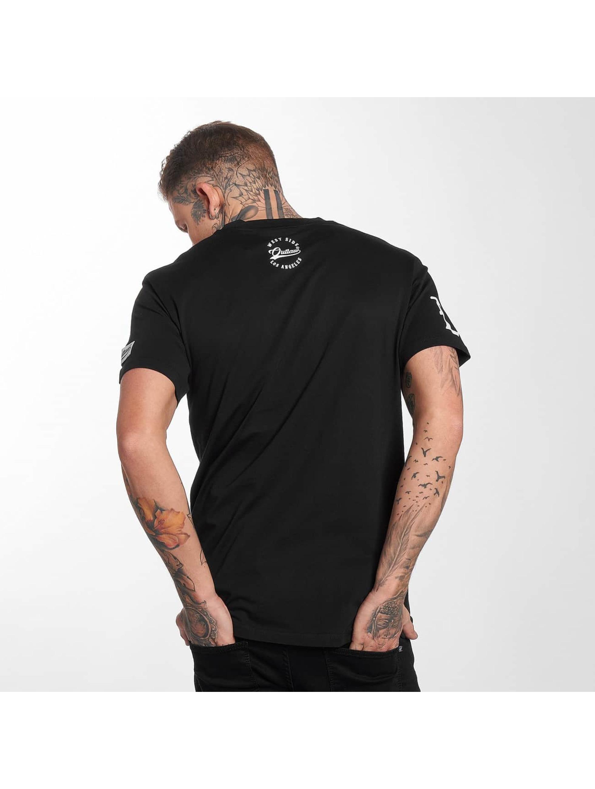 Outlaw T-Shirt Outlaw Run noir