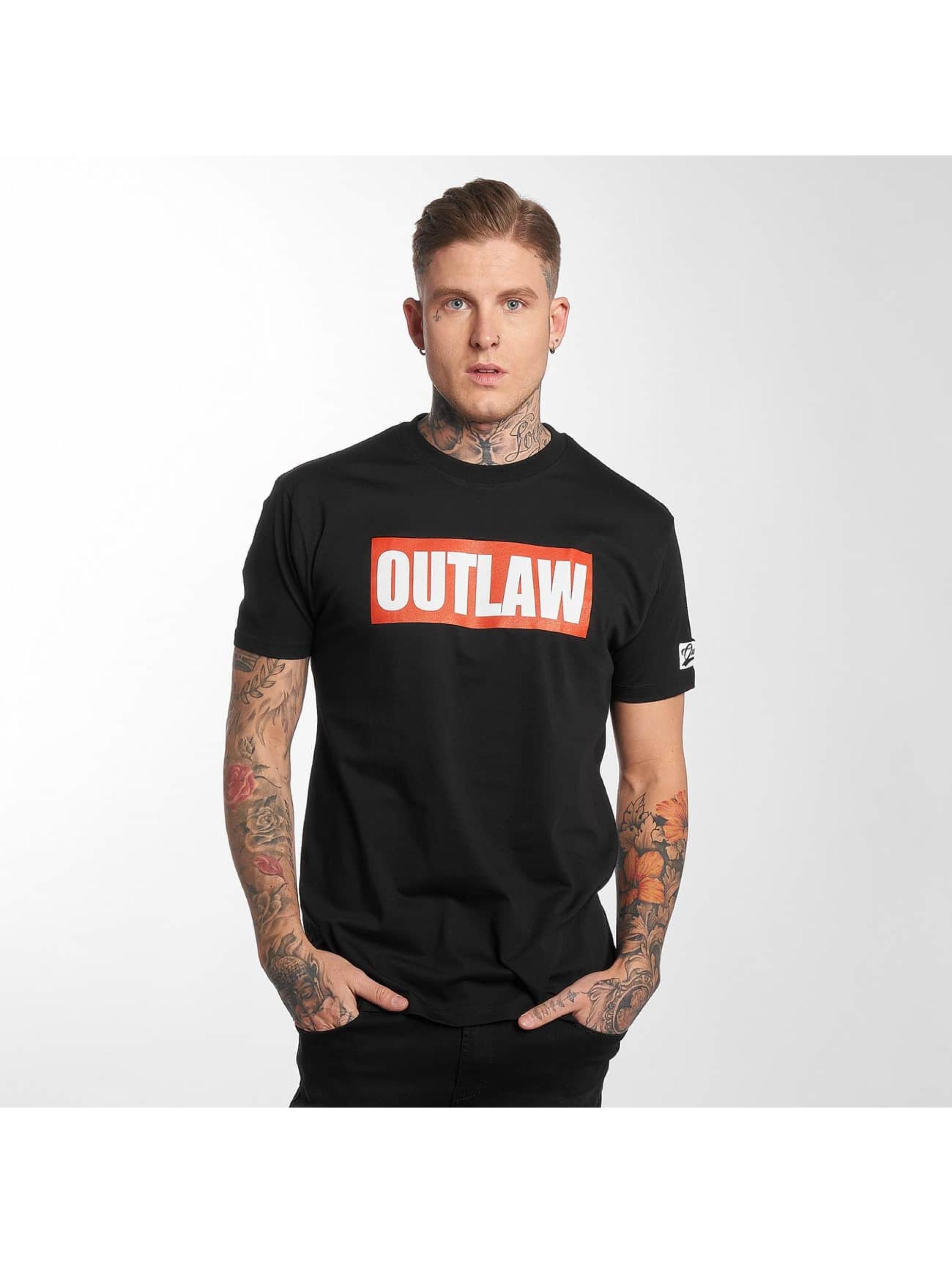 Outlaw T-Shirt Outlaw Brand noir