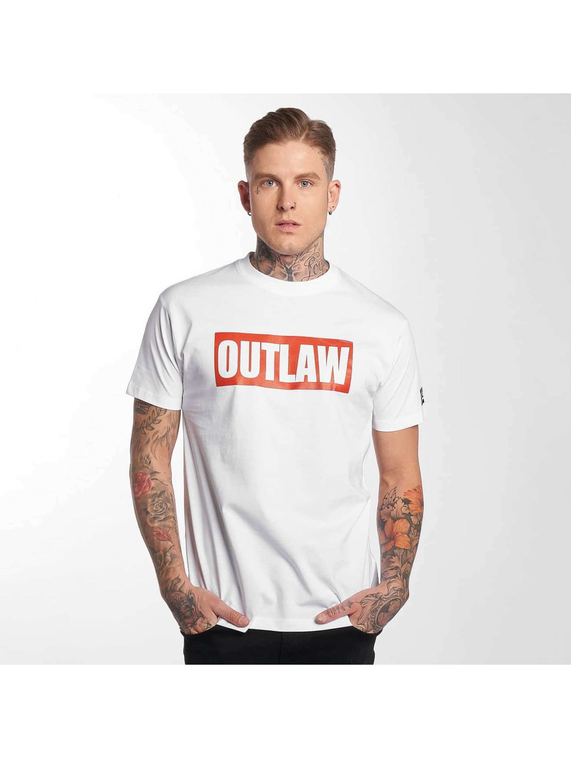 Outlaw t-shirt Outlaw Brand wit