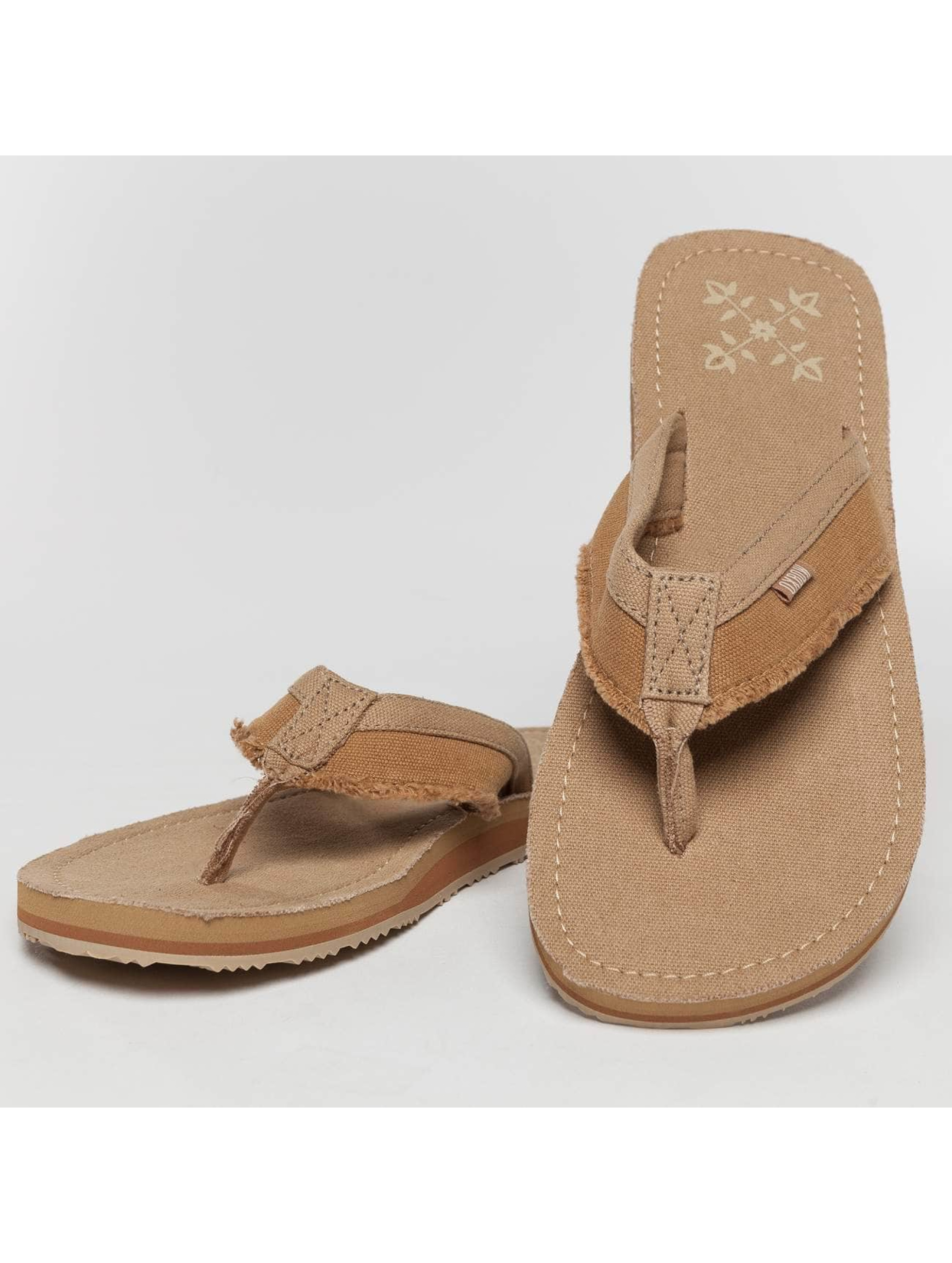 Oxbow Sandals Valpero Mix-Fabric Raw beige