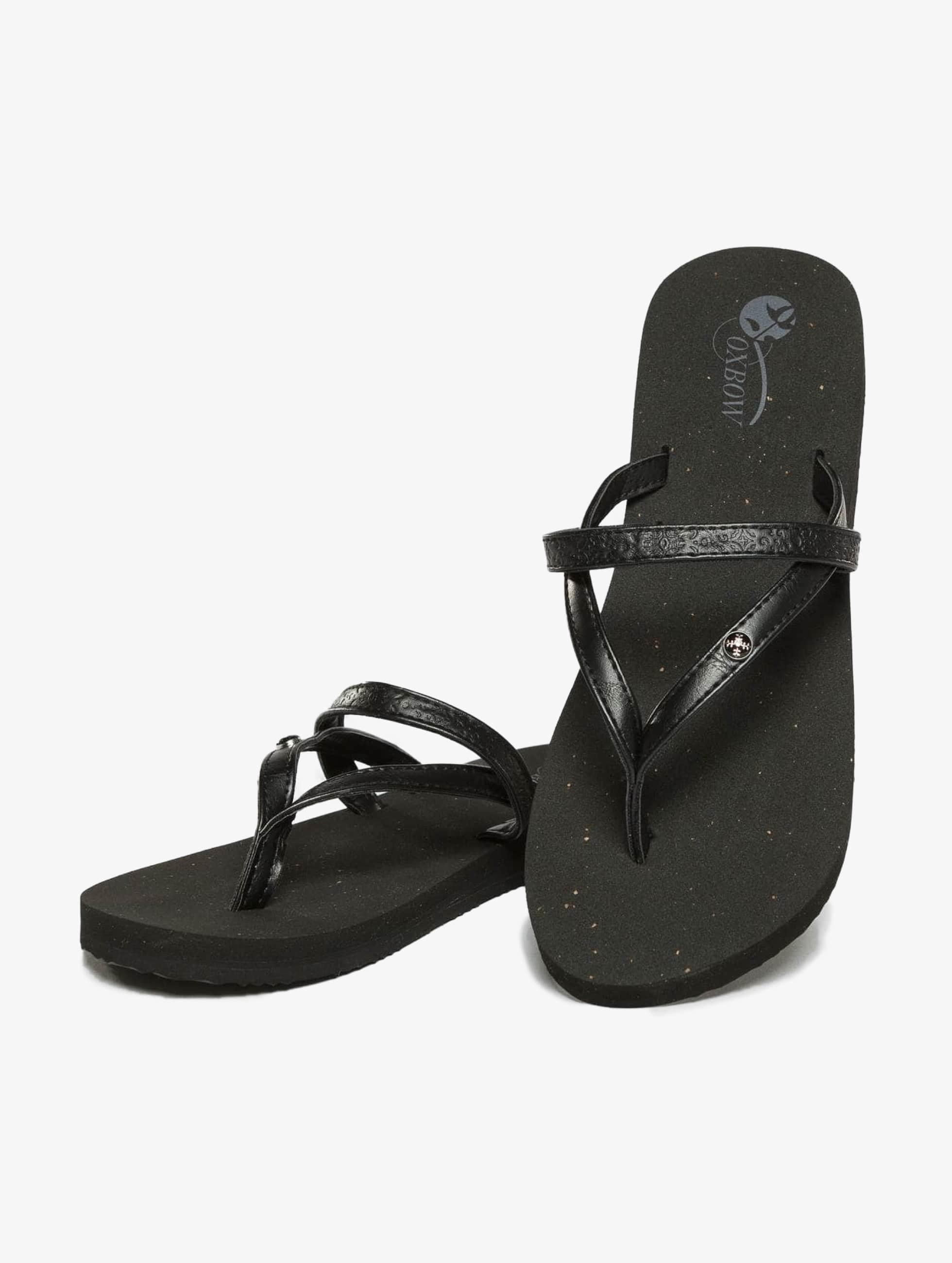 Oxbow Sandals Voncello Wedge EVA black