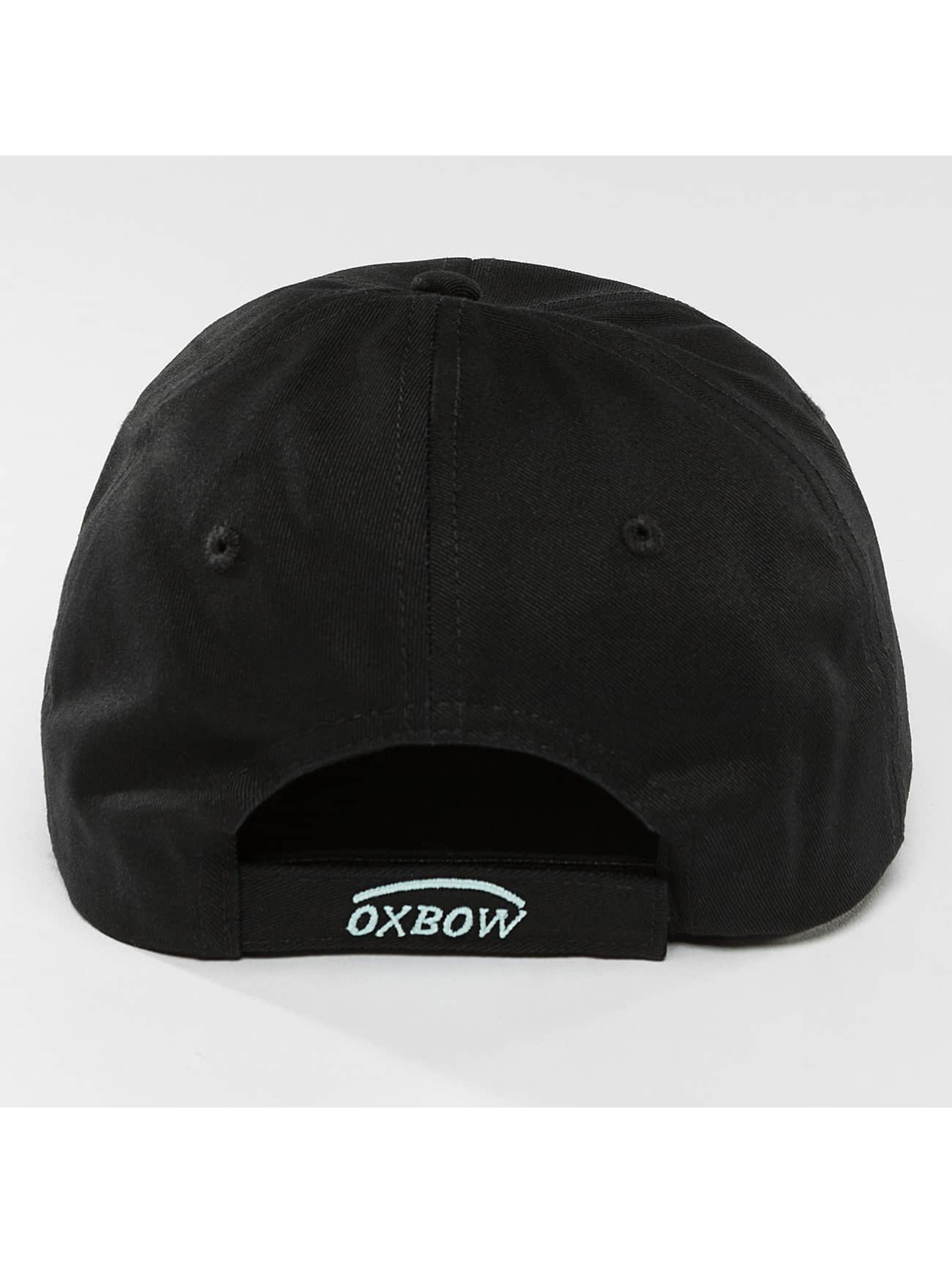 Oxbow Snapback Caps Escoz Solid musta