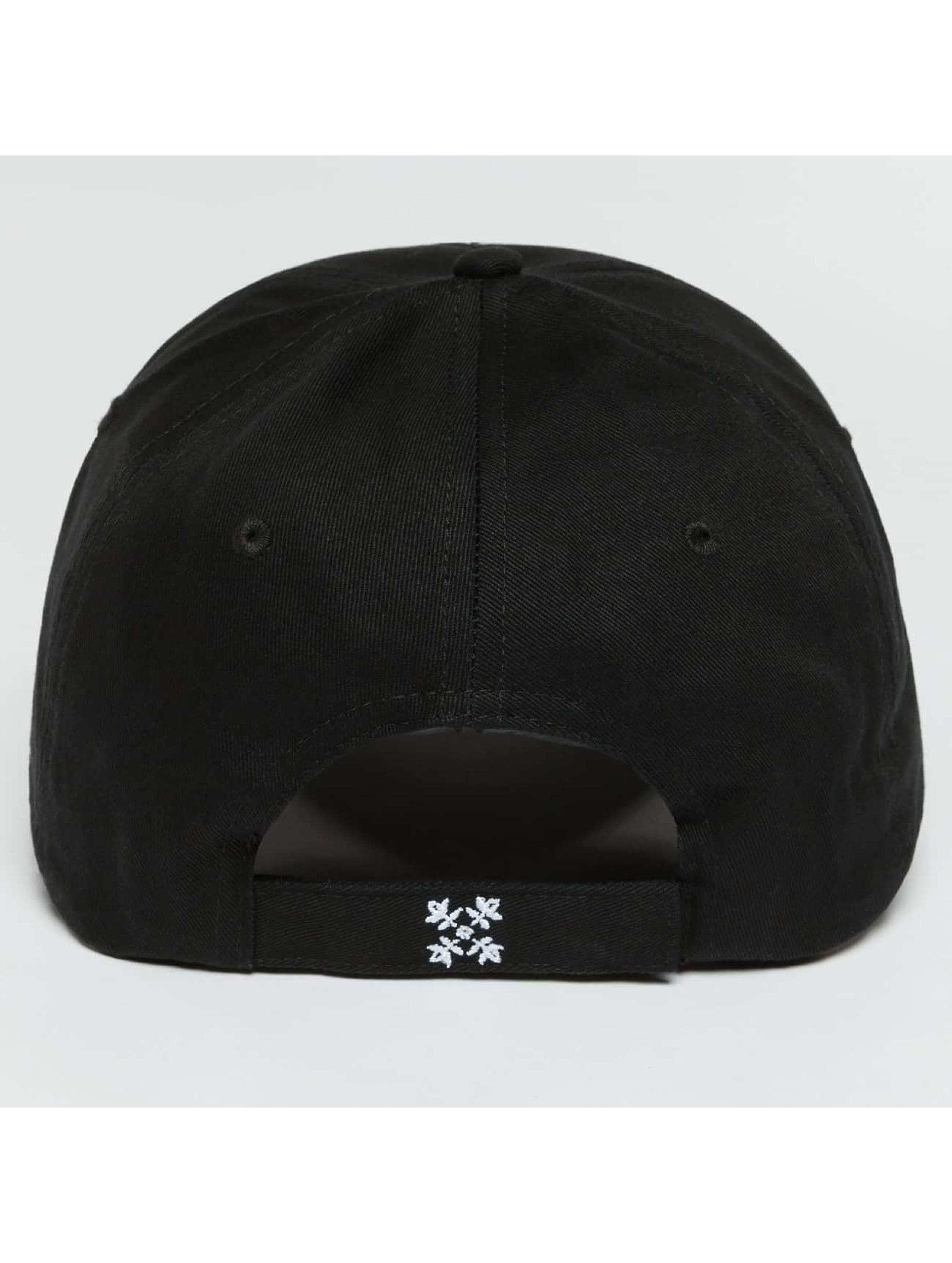 Oxbow Snapback Caps Eremo Solid musta