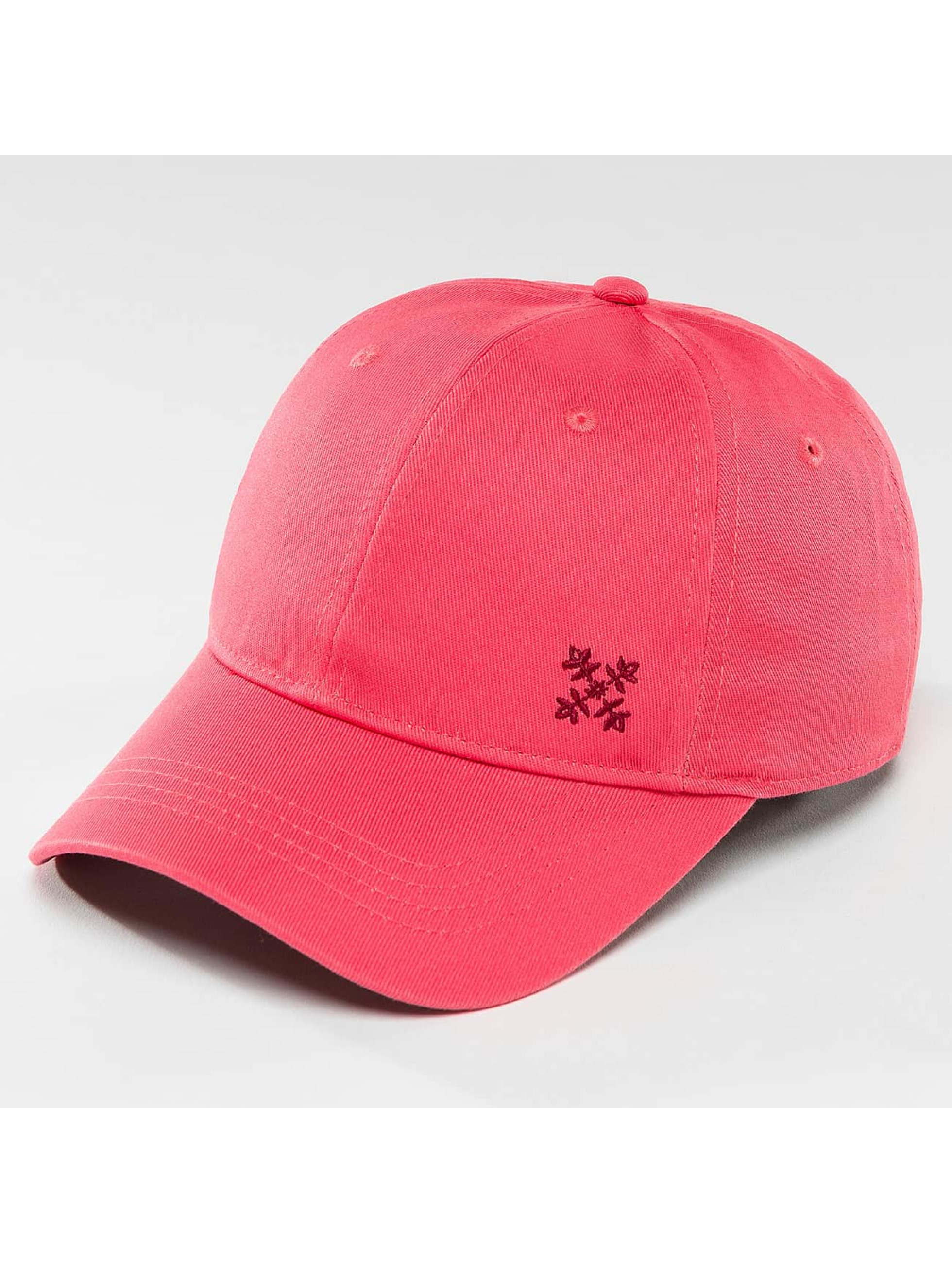 Oxbow Snapback Caps Elia Embroidered Plain vaaleanpunainen
