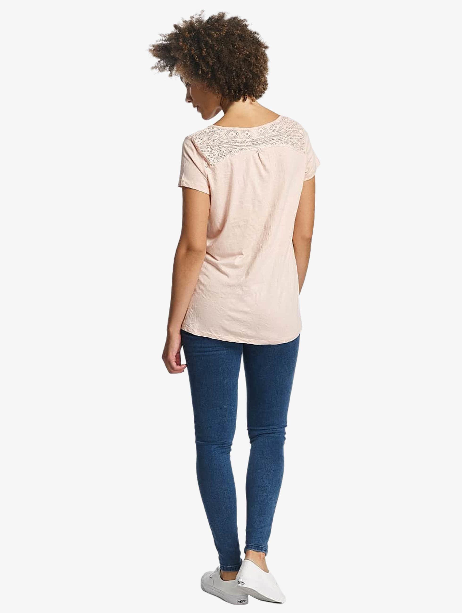 Oxbow T-Shirty Thea Crinkle rózowy