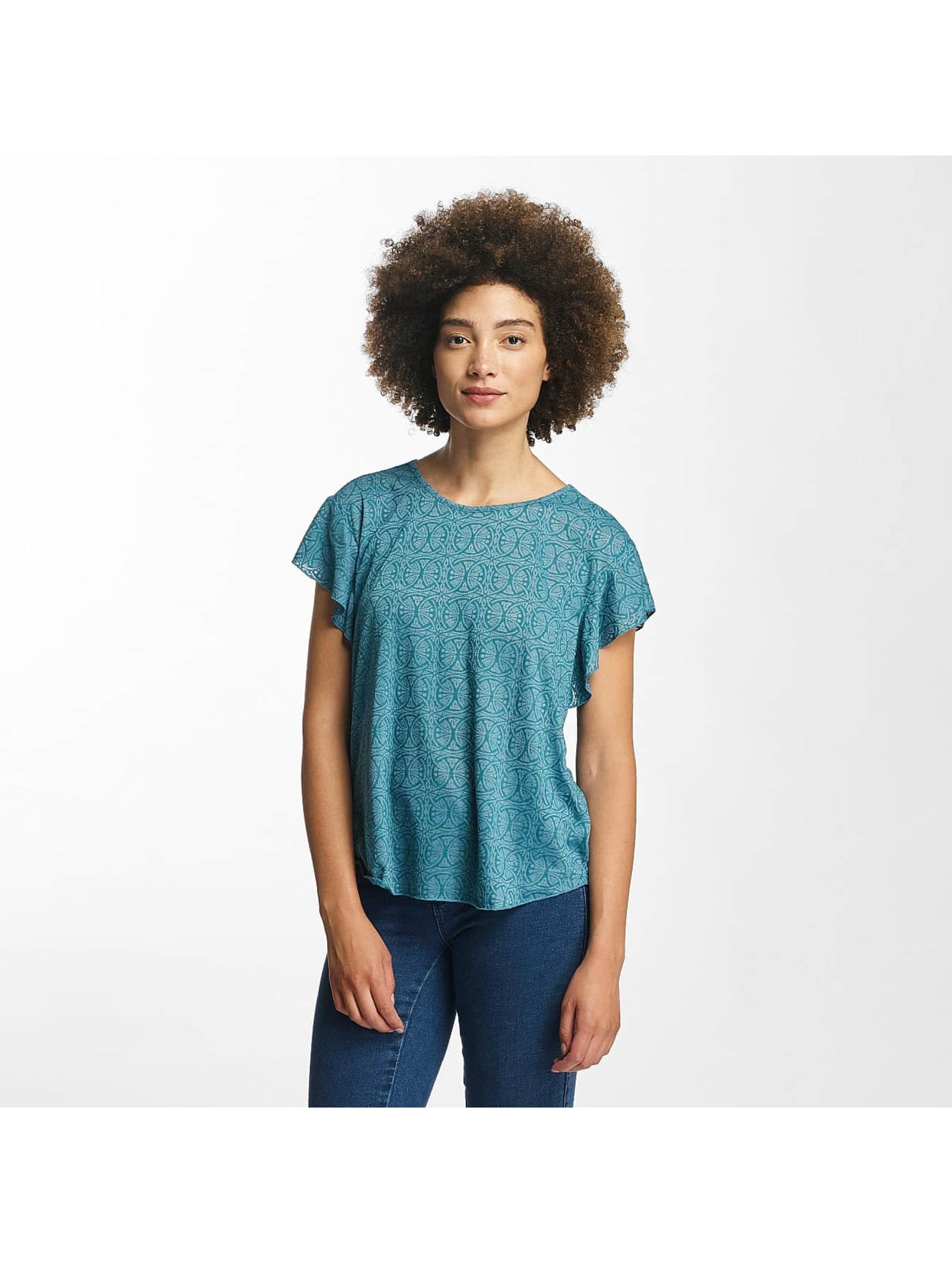 Oxbow T-skjorter Trinity Crinkle turkis