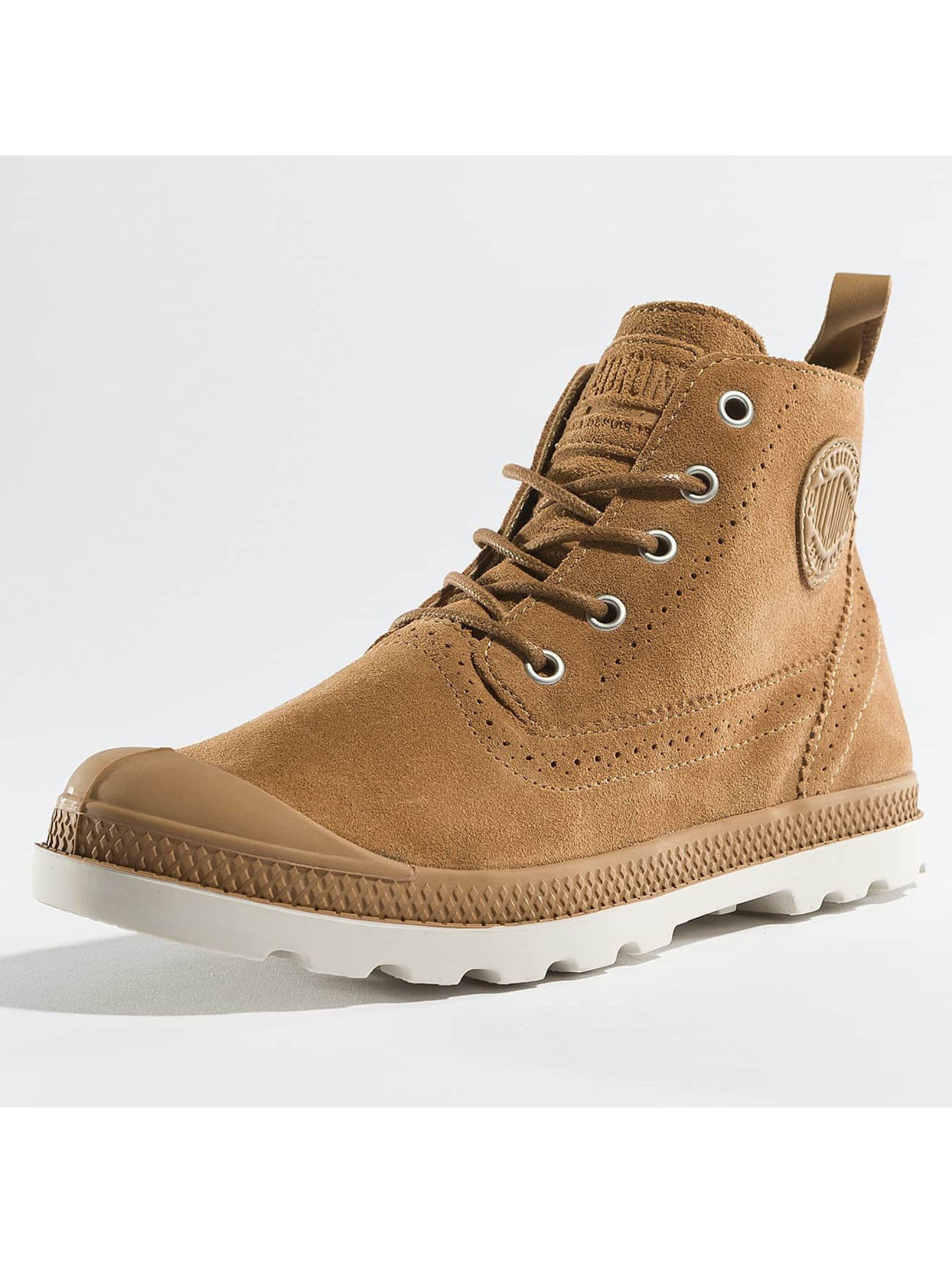 Palladium Boots ampa LDN LP Mid Sue marrón