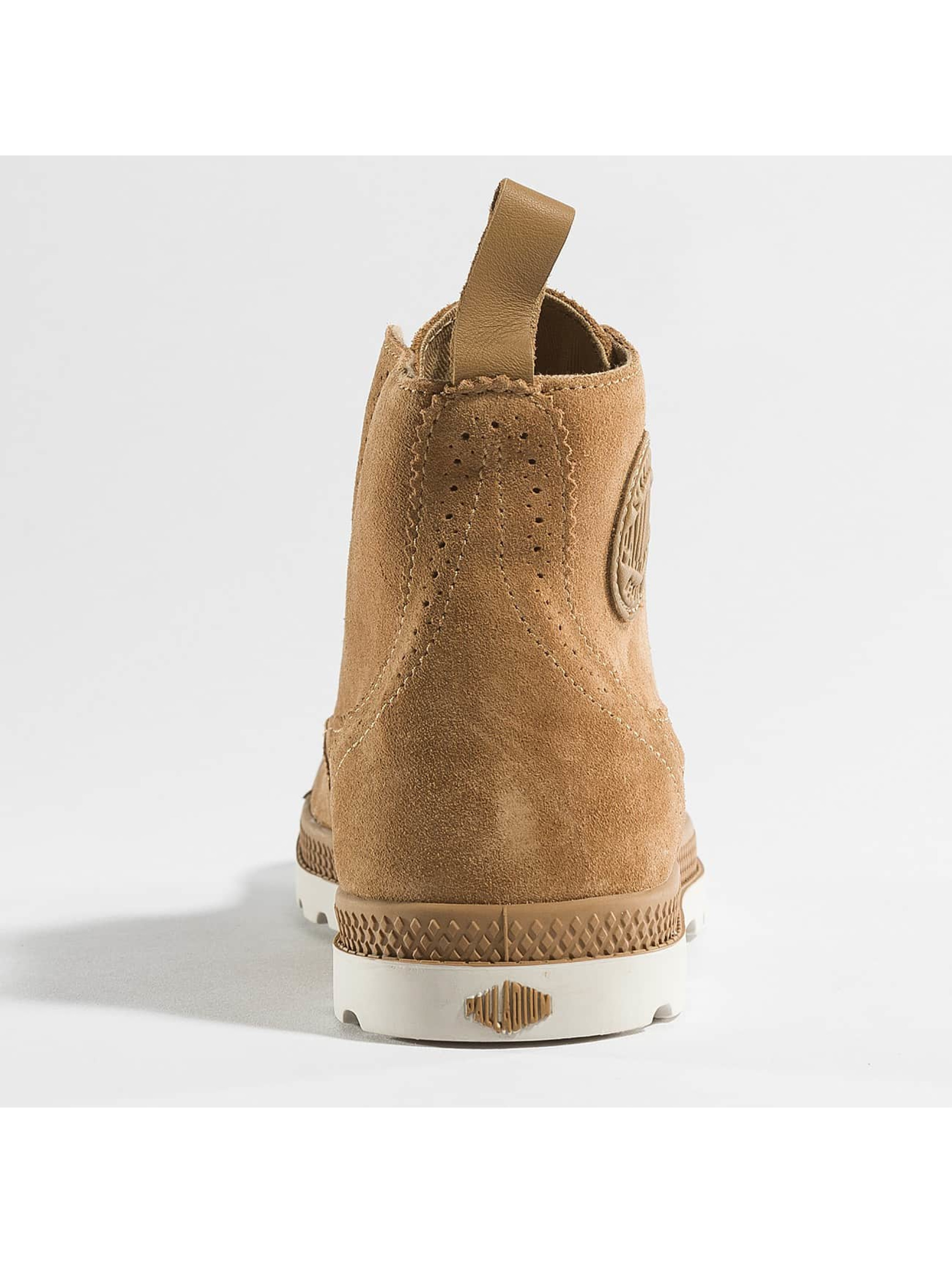 Palladium Boots ampa LDN LP Mid Sue marrone