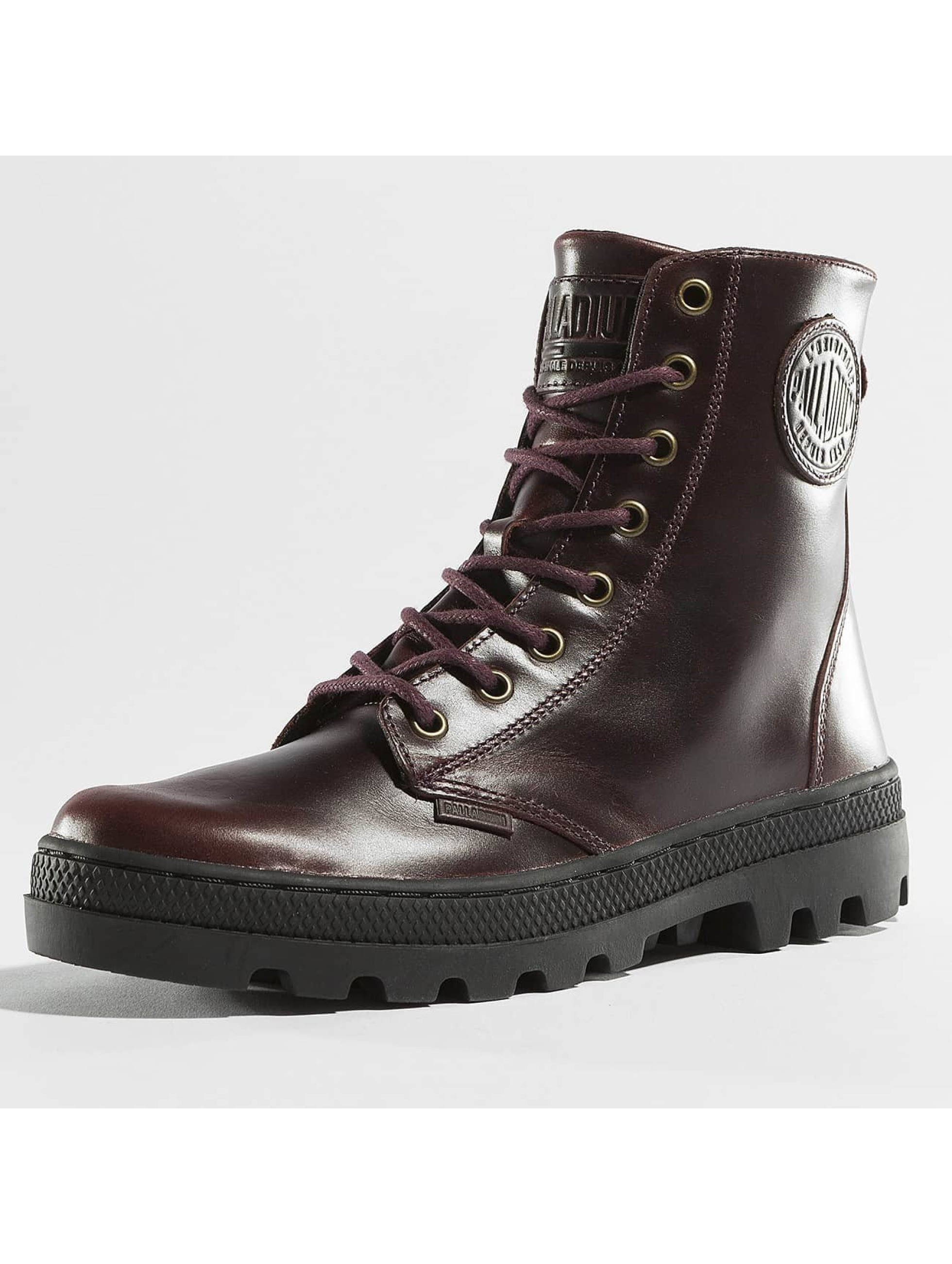Palladium Boots Pallabosse Off Lea marrone