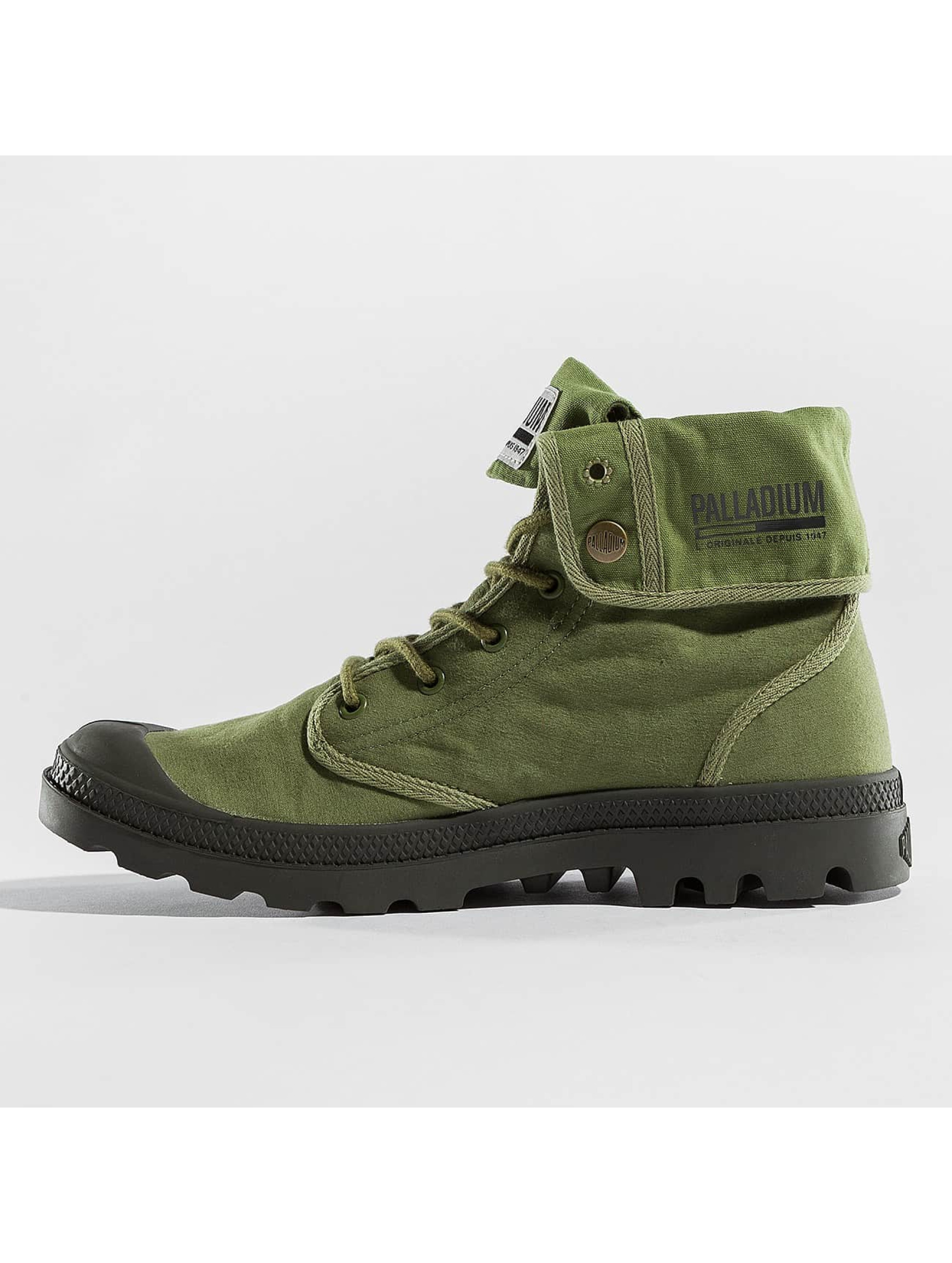 Palladium Chaussures montantes Baggy Army TRNG Camp olive