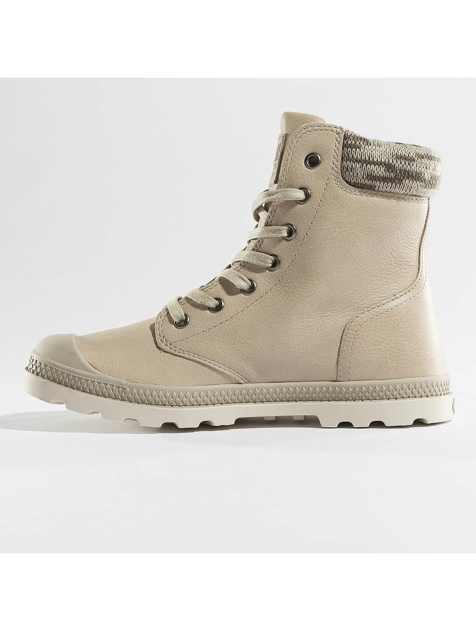 Palladium Holínky Pampa Hi Knit LP Boots béžový