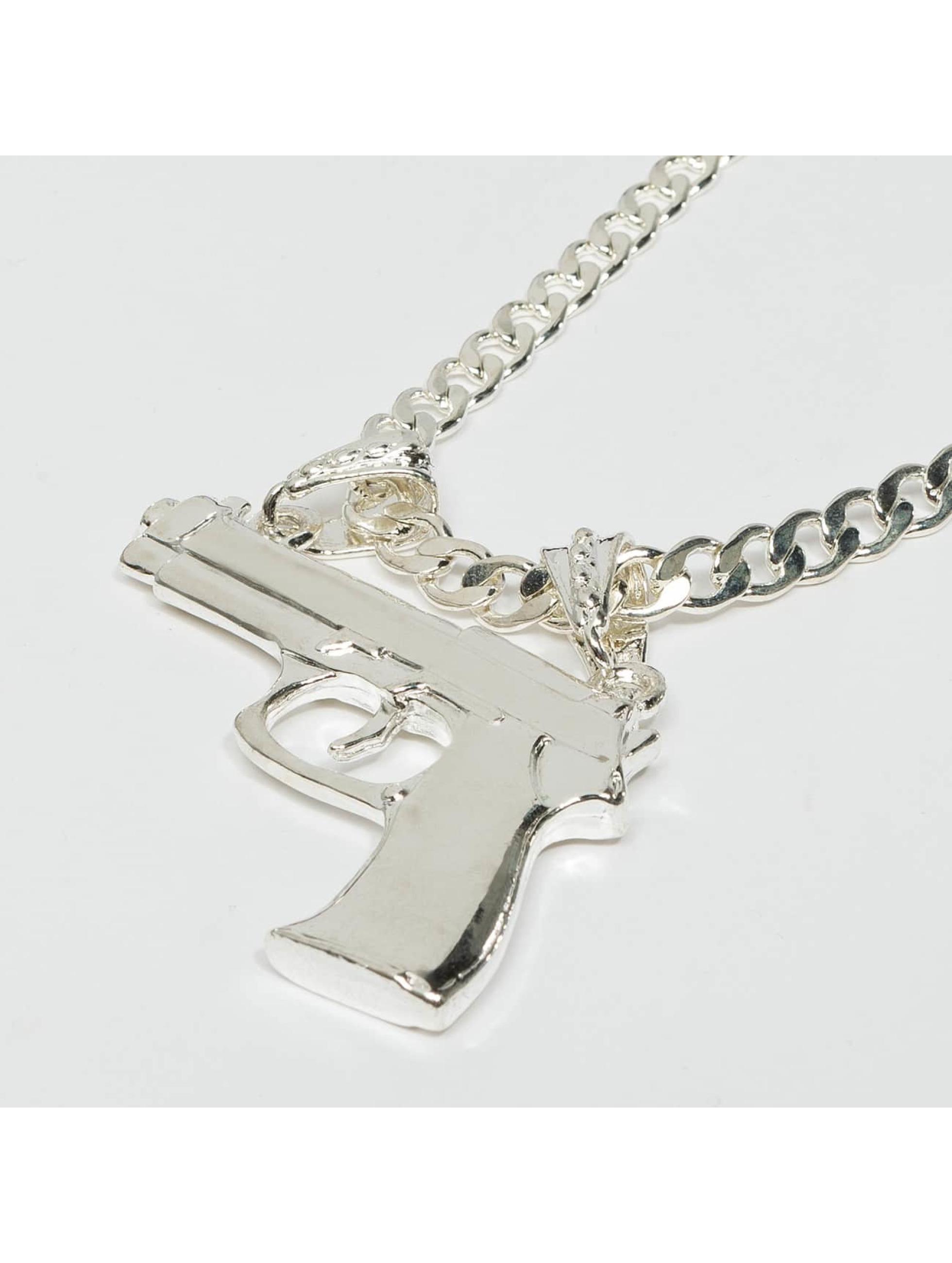Paris Jewelry Цепочка Pistol серебро
