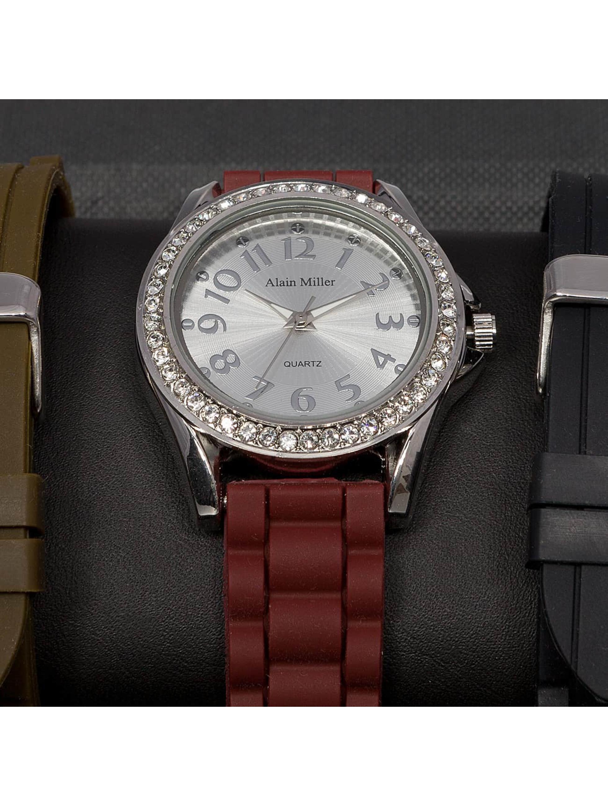 Paris Jewelry horloge Set bruin