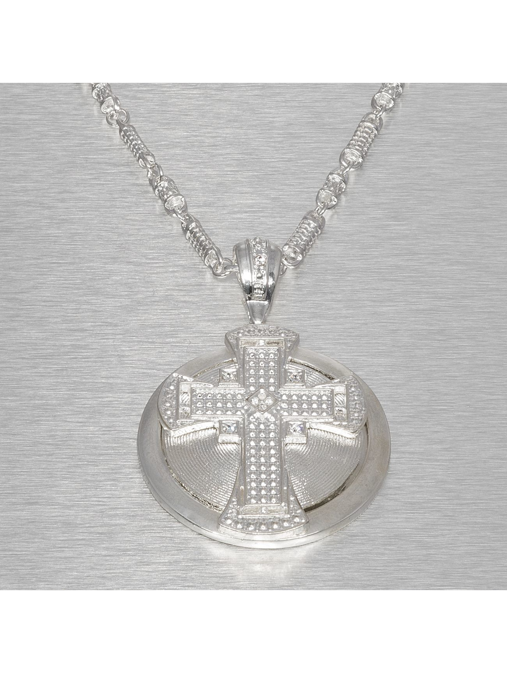 Paris Jewelry Kaulaketjut Hip Hop Jewels Cross hopea