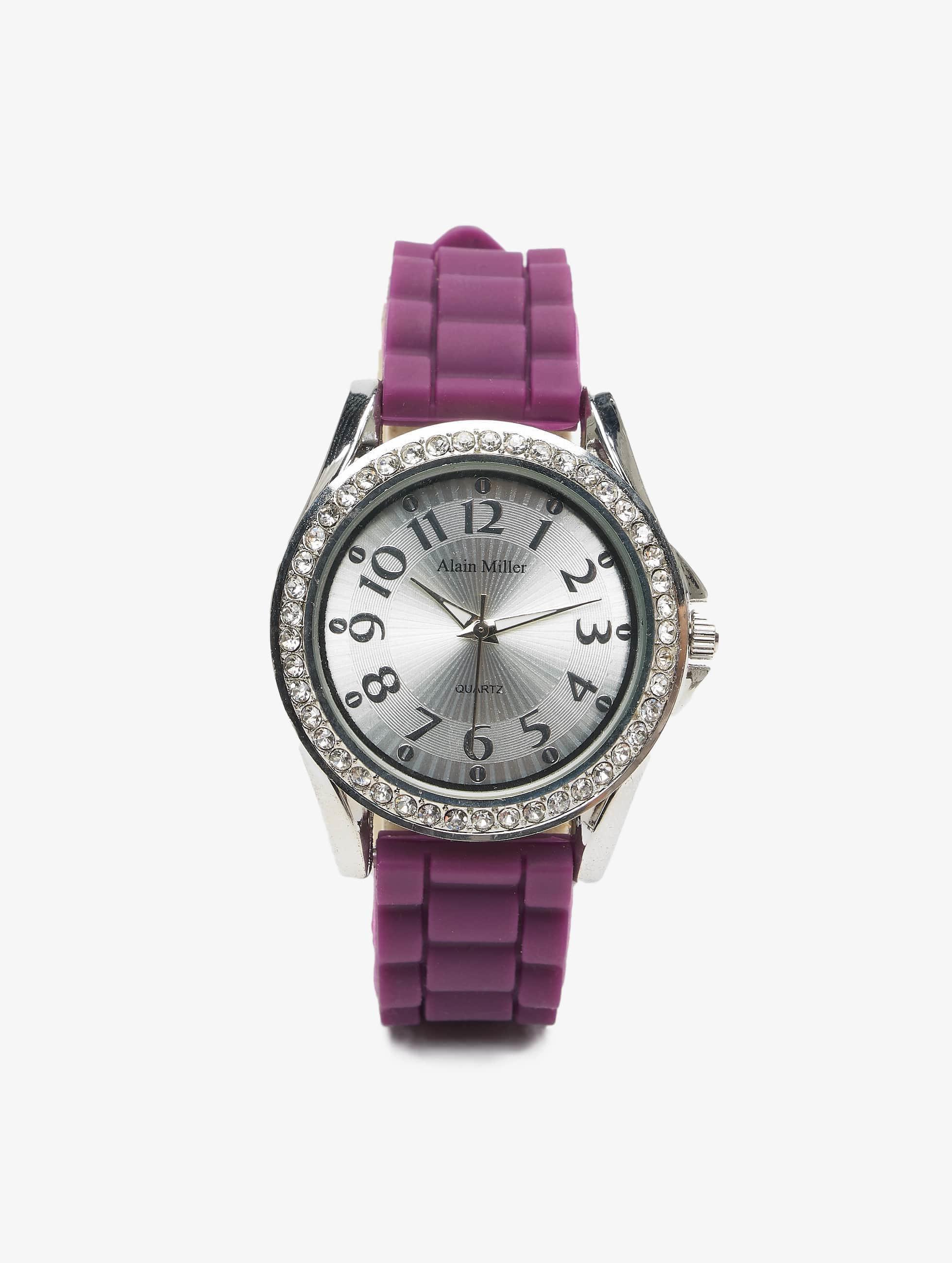 Paris Jewelry Kellot Set purpuranpunainen