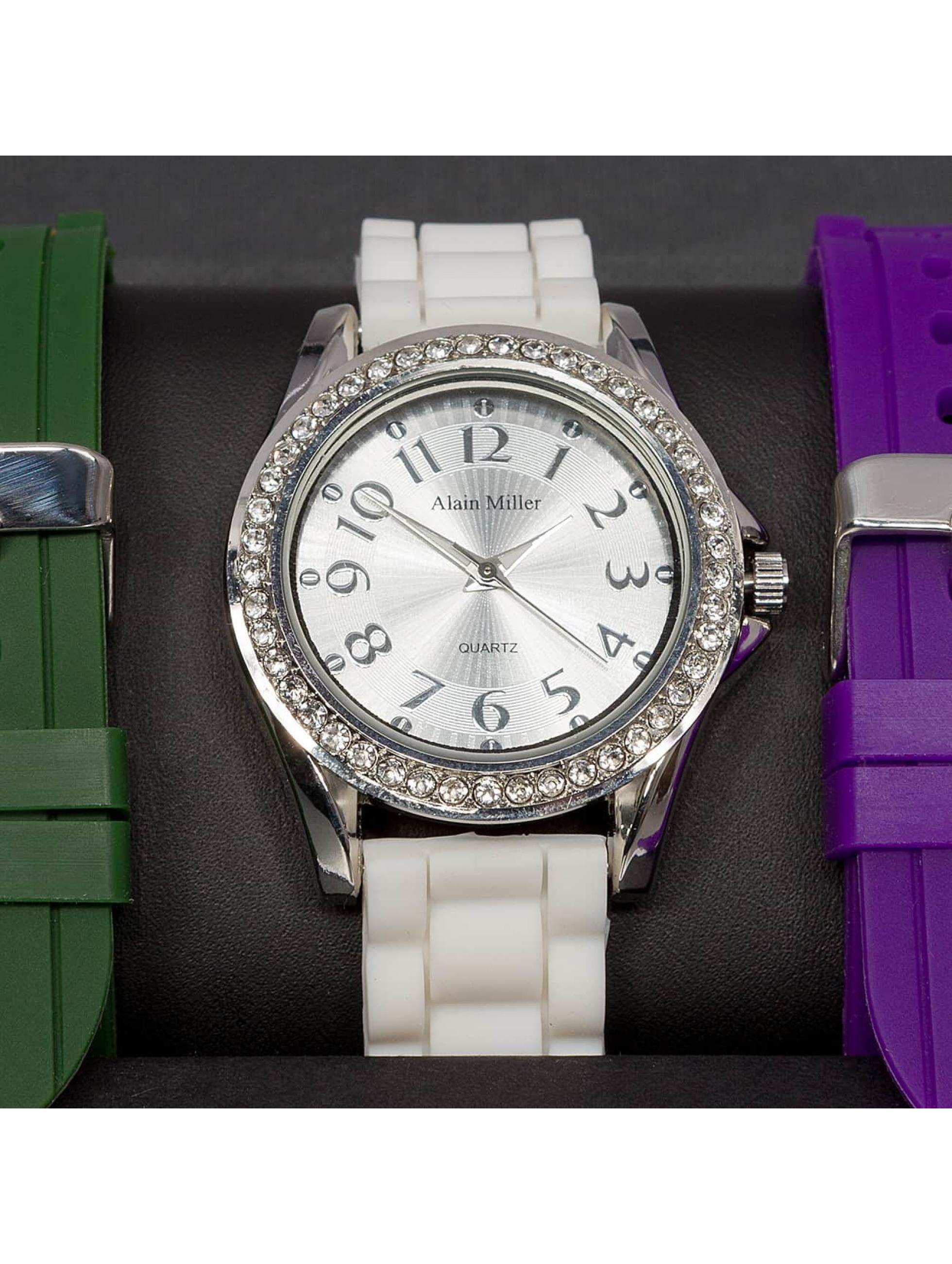 Paris Jewelry Uhr Set weiß