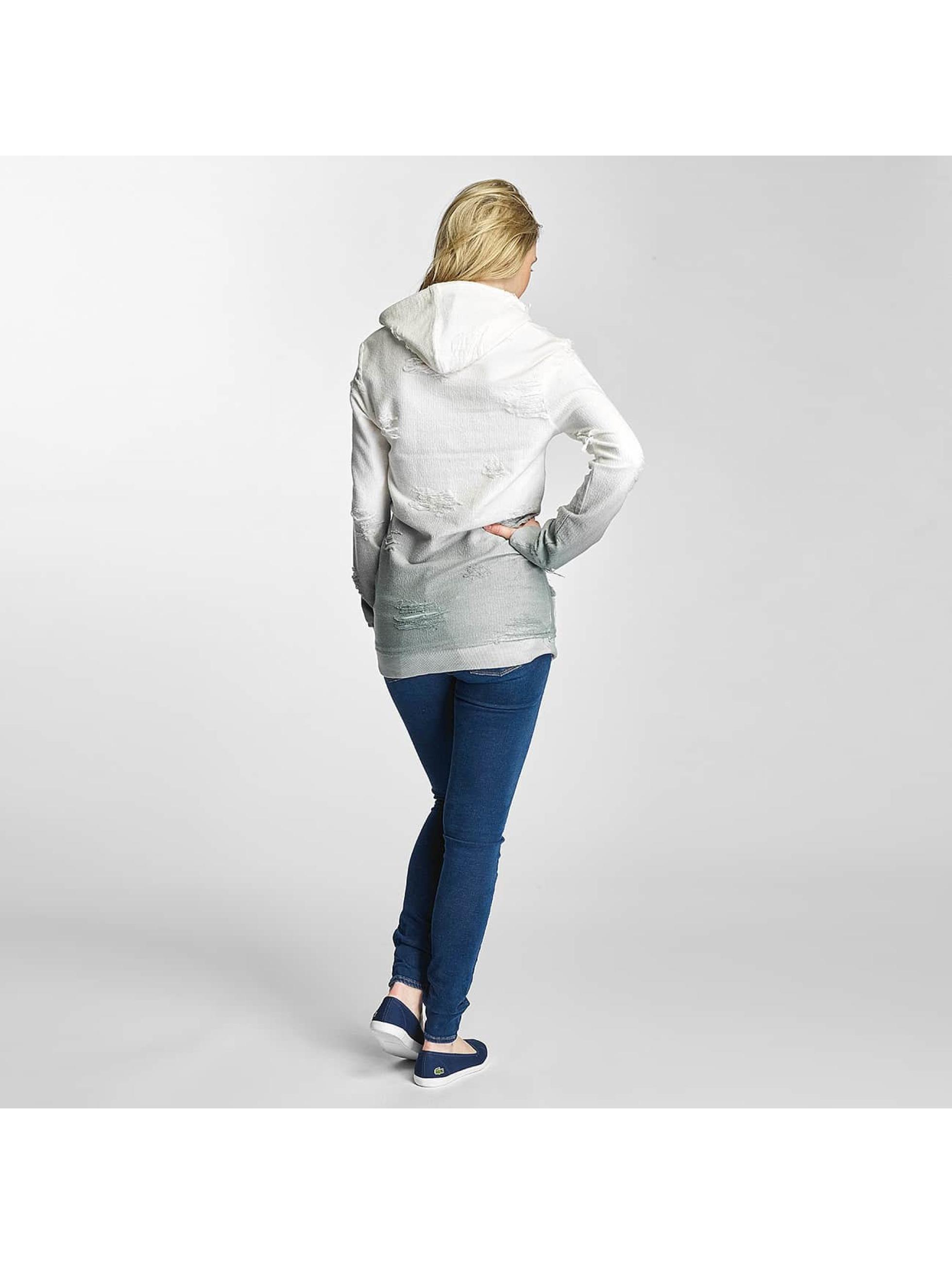 Paris Premium Bluzy z kapturem Two Tone szary