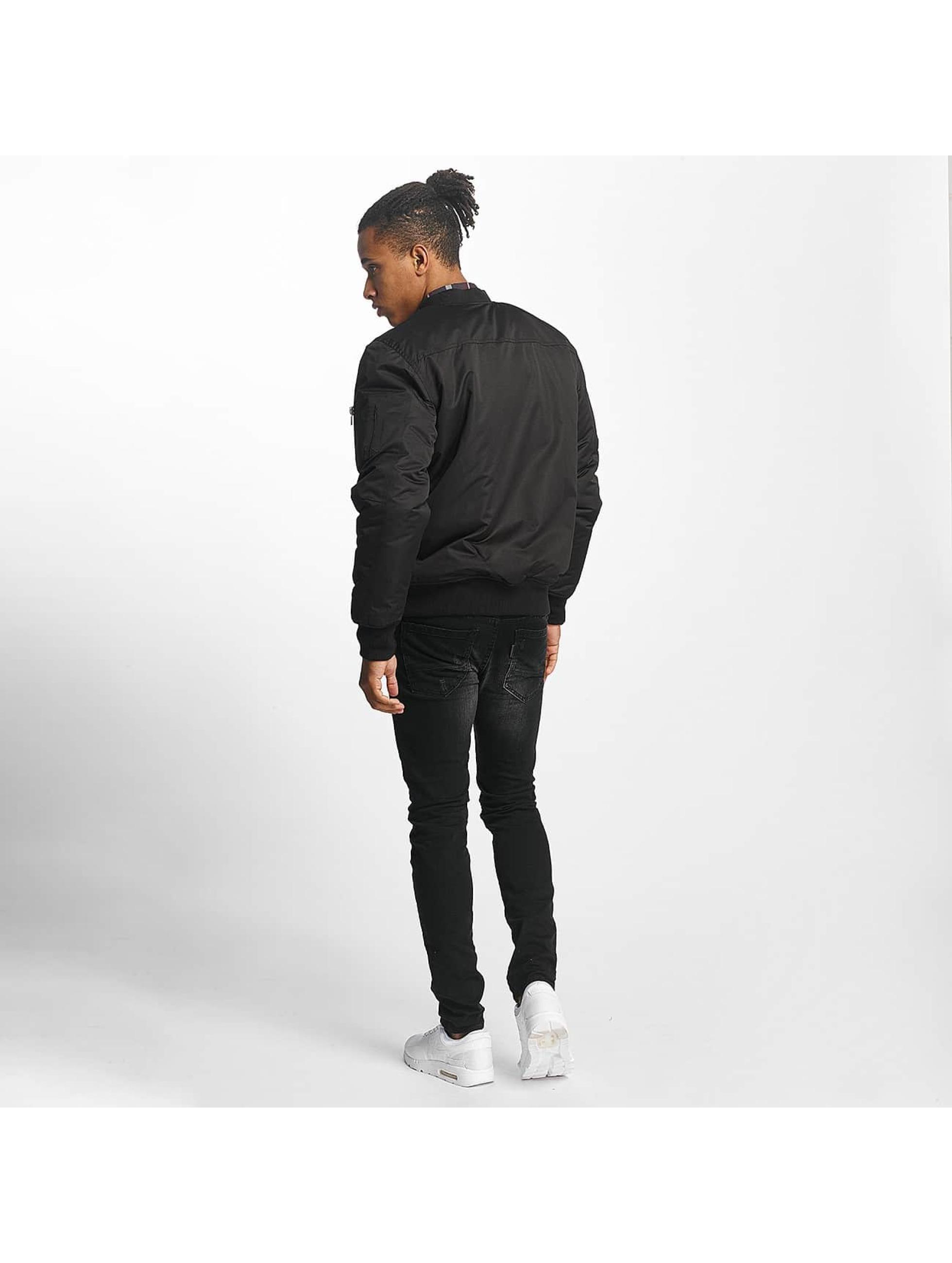 Paris Premium Bomberjack Basic zwart