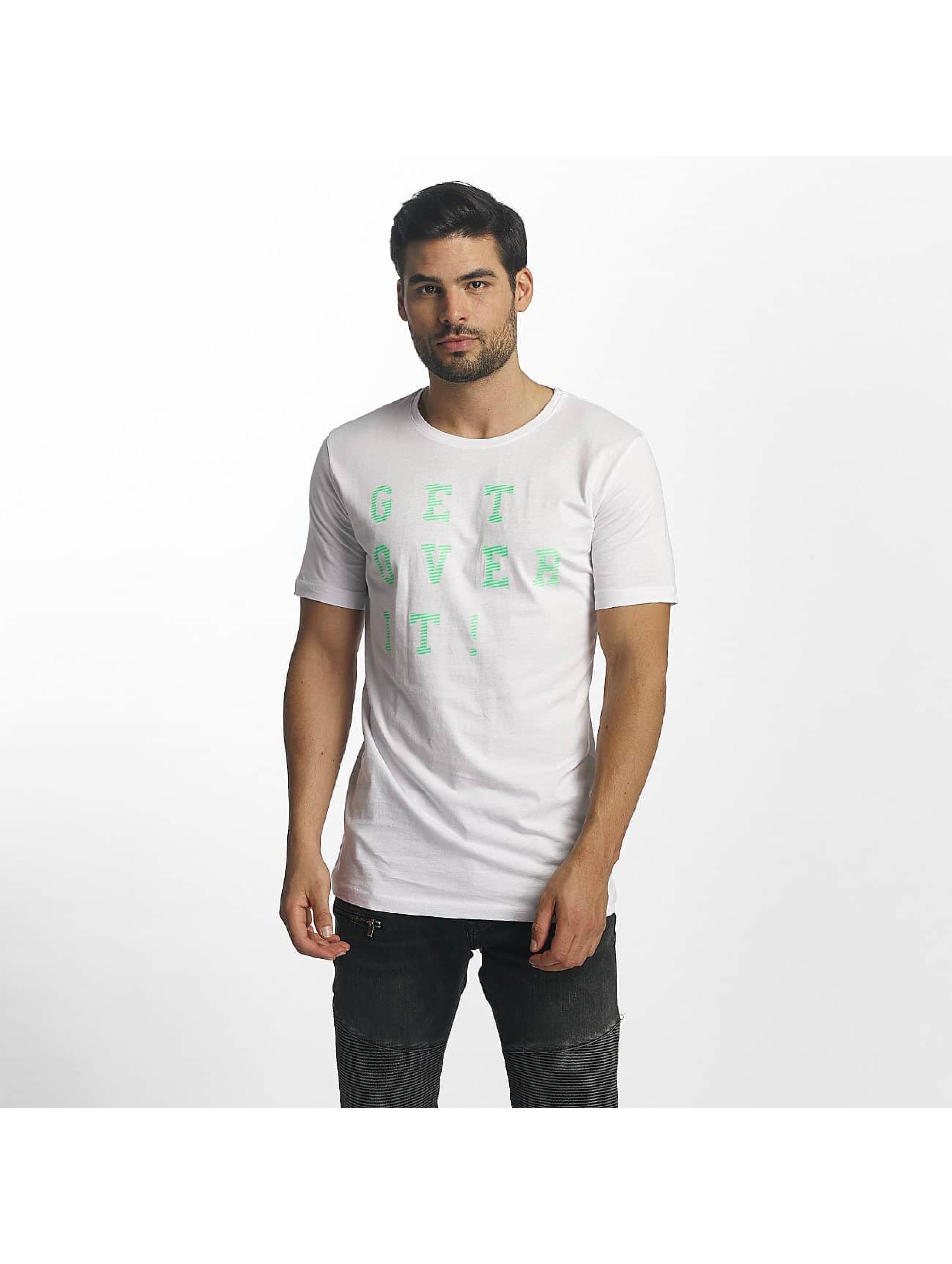 Paris Premium Camiseta Get Over It blanco