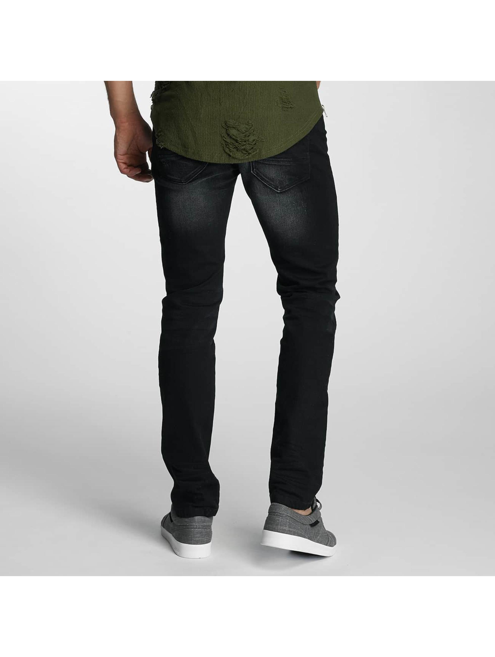 Paris Premium Dżinsy straight fit Used czarny
