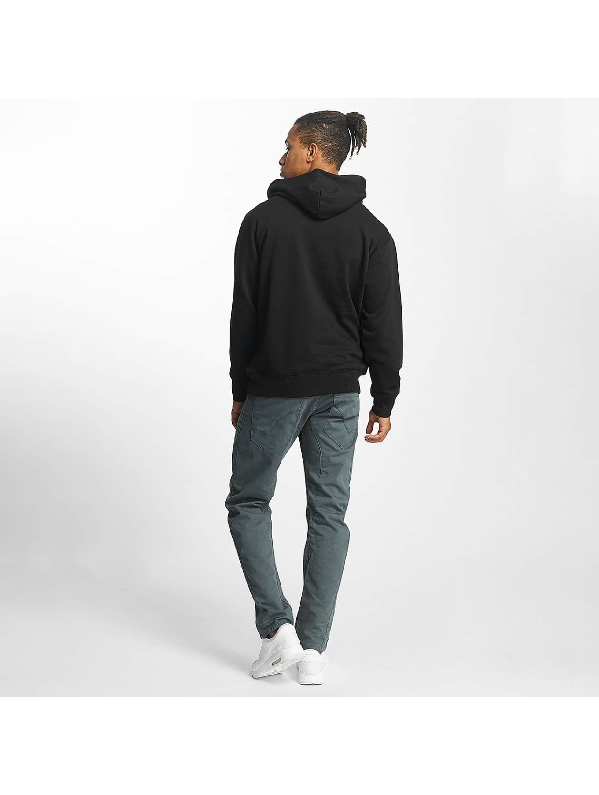 Paris Premium Hoody Basic zwart