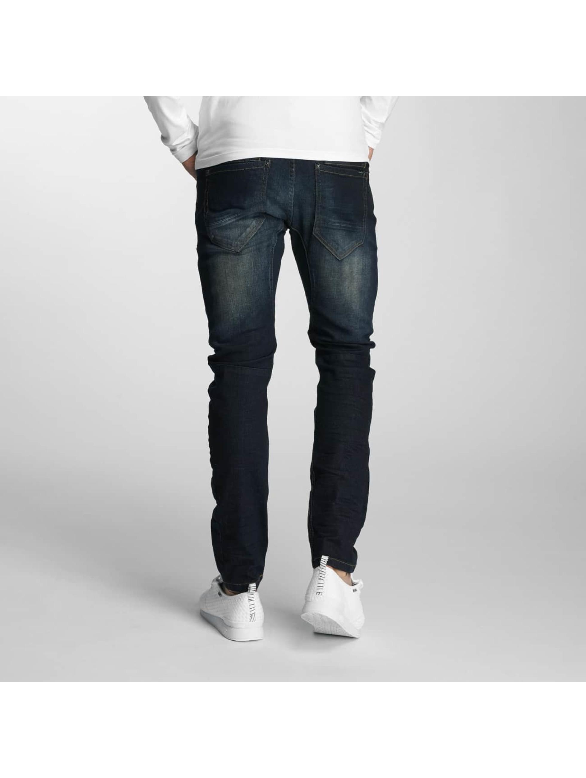 Paris Premium Jean coupe droite Azrael bleu