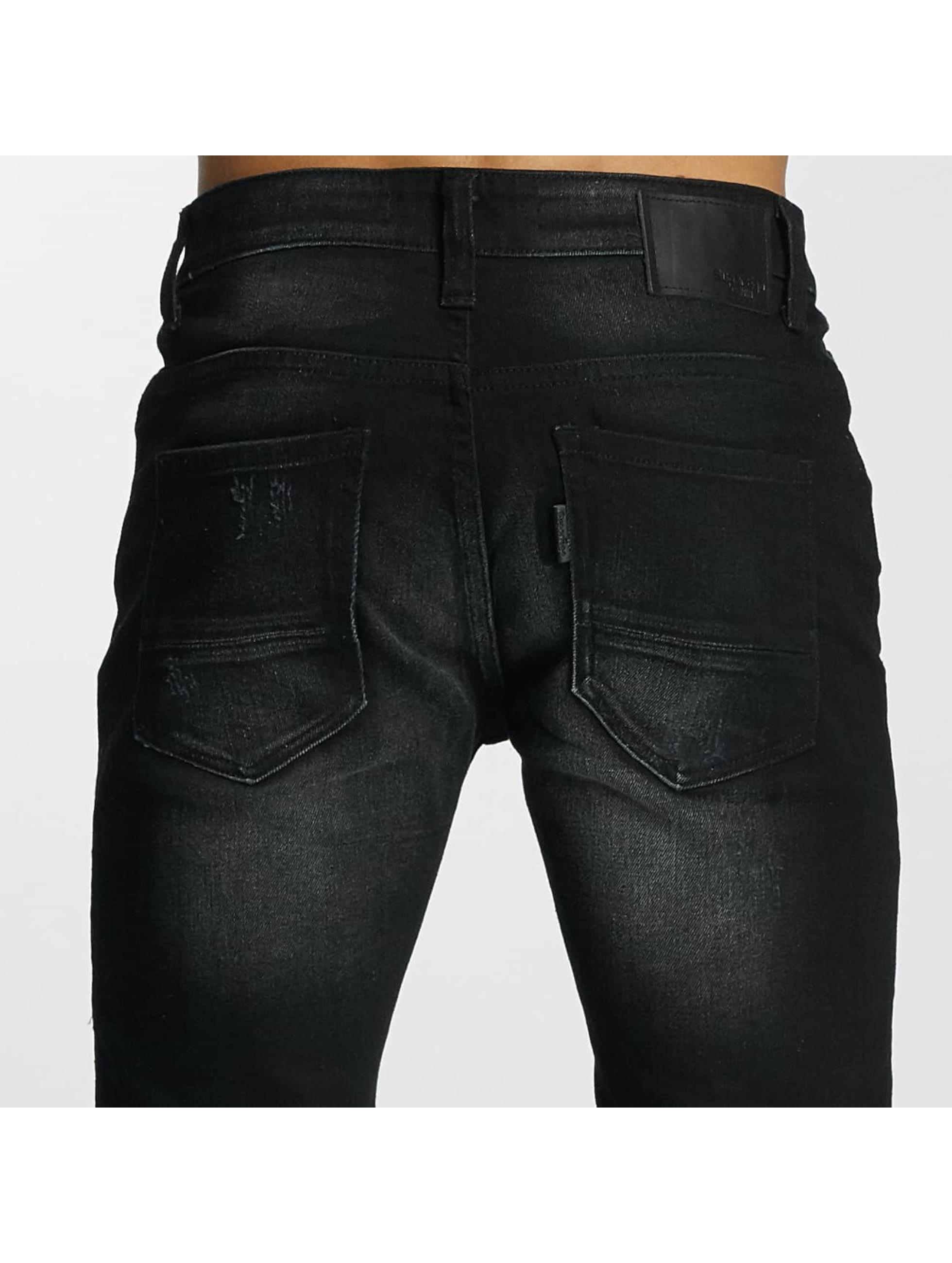 Paris Premium Jean coupe droite Used noir
