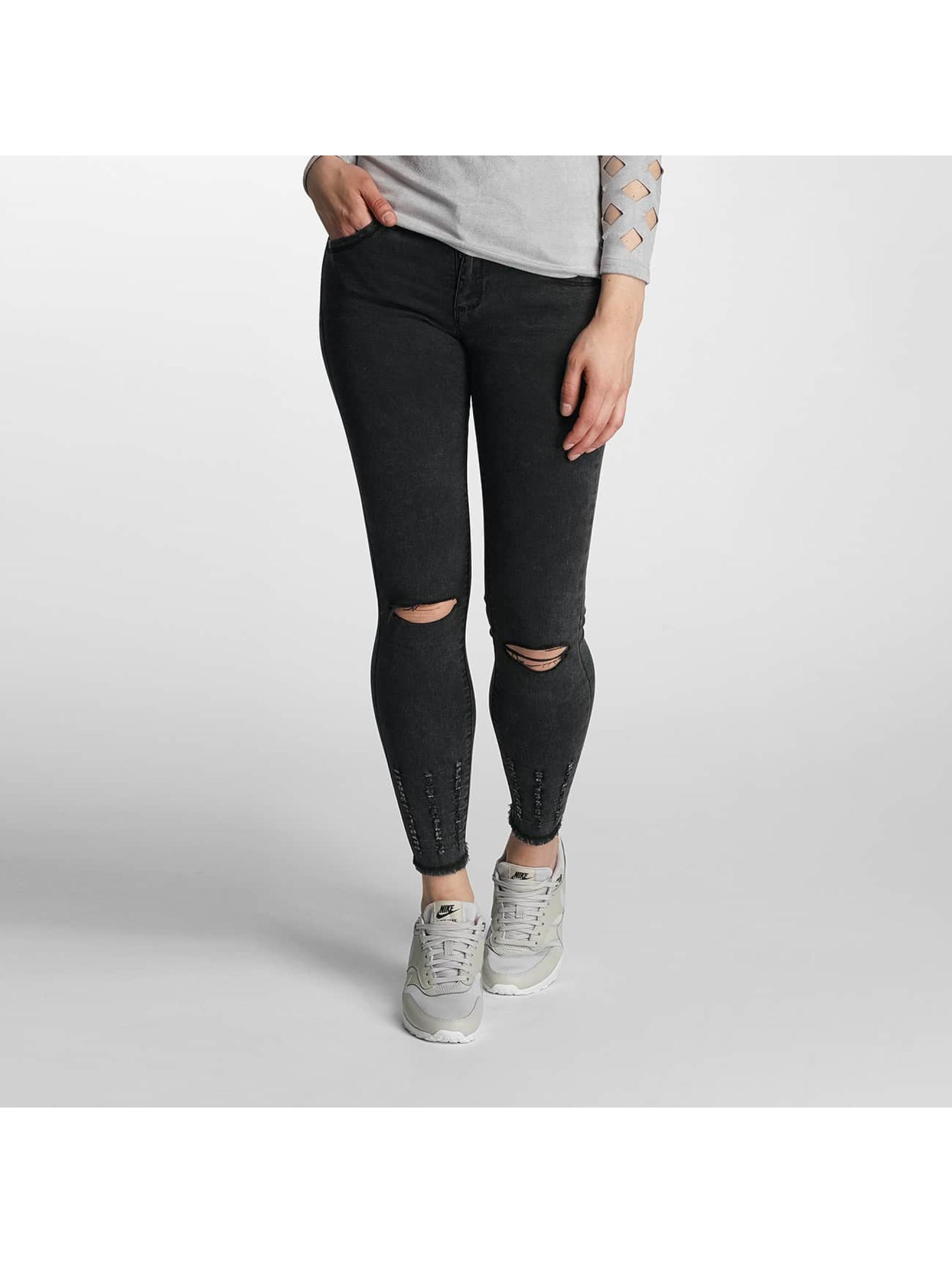 Paris Premium Denim noir Jean skinny femme