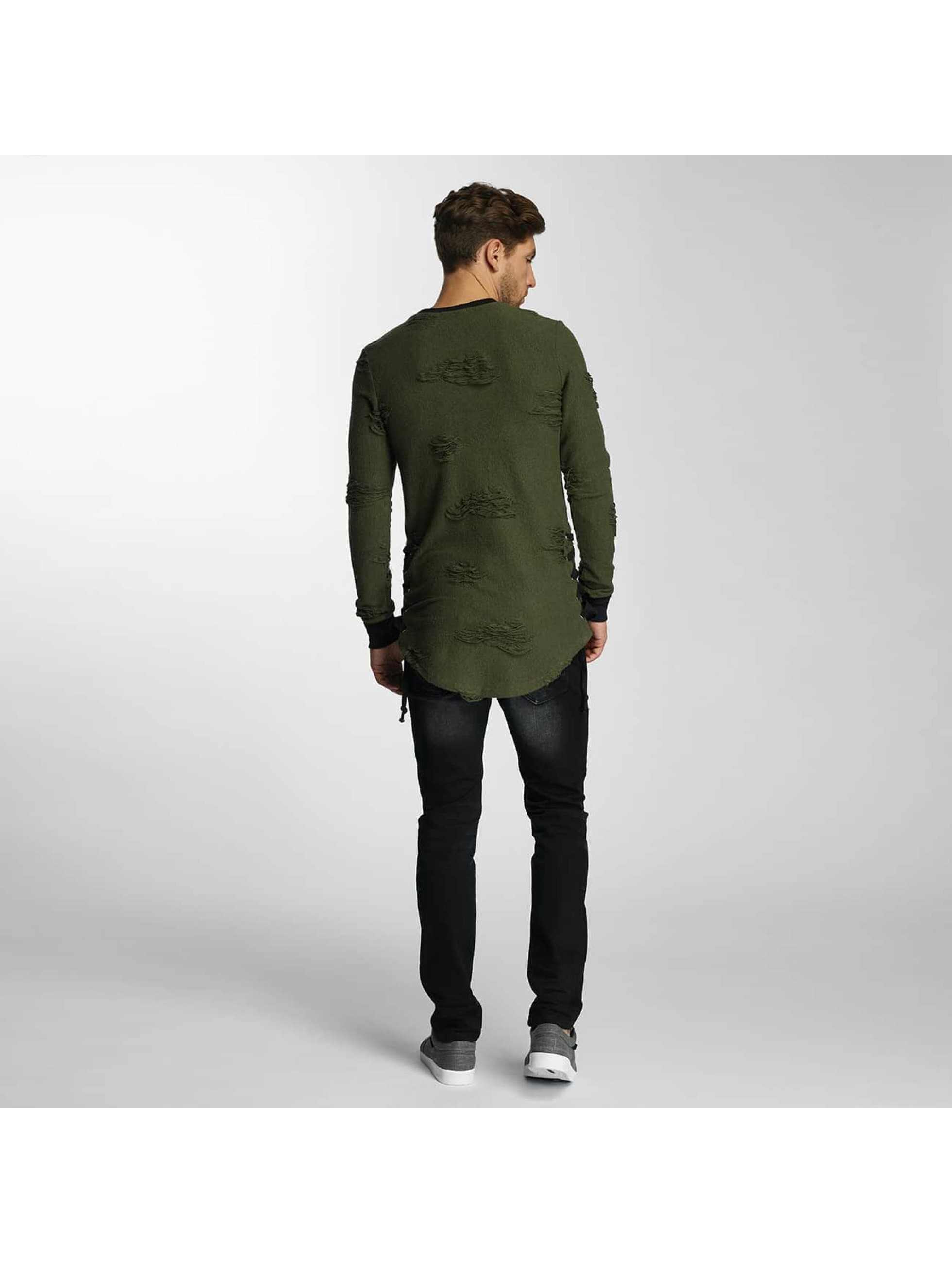 Paris Premium Jumper Destroyed green