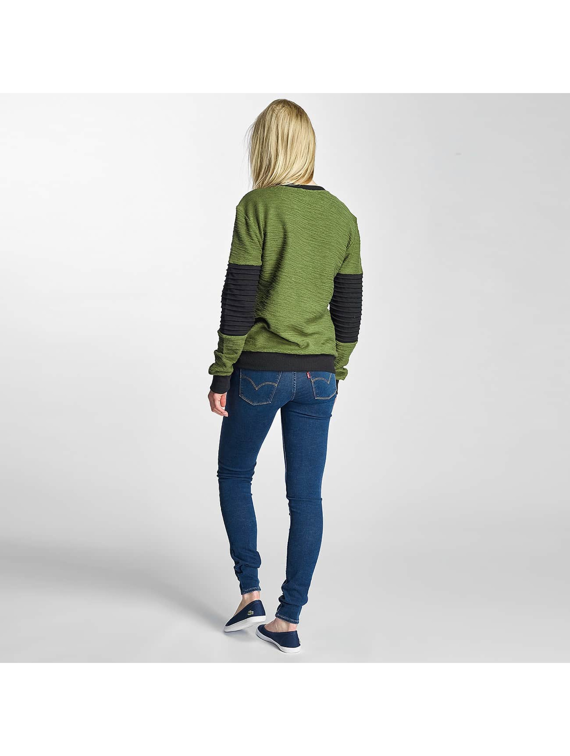 Paris Premium Jumper Pocket olive
