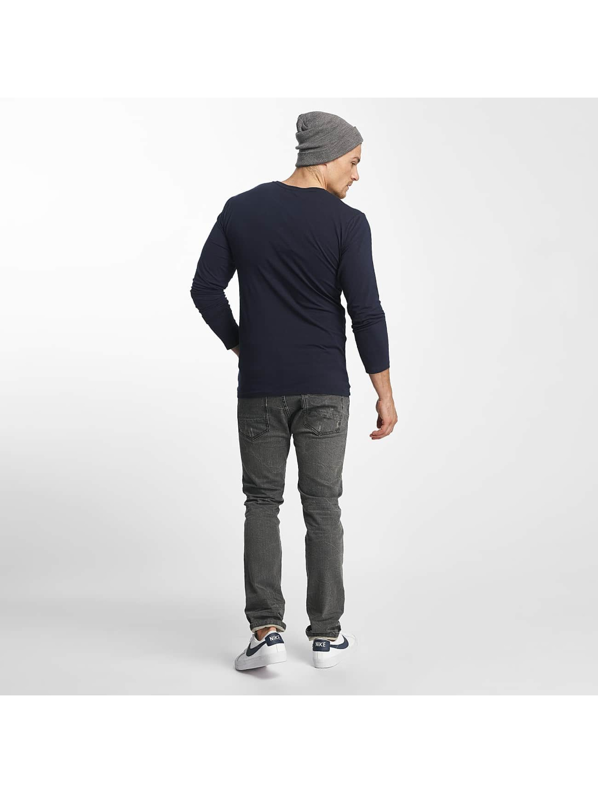 Paris Premium Langermet Basic blå