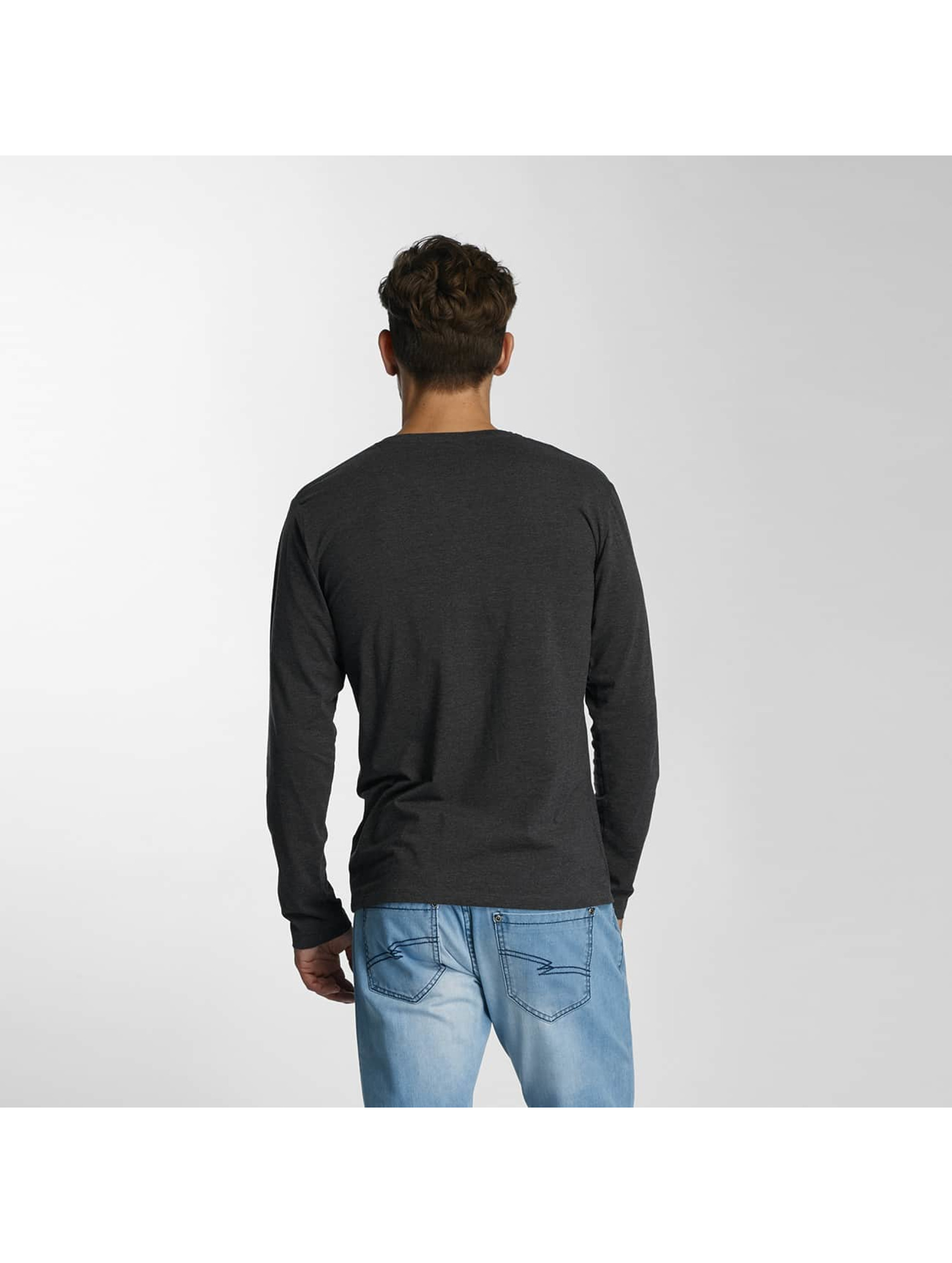 Paris Premium Longsleeve Basic Longsleeve grijs