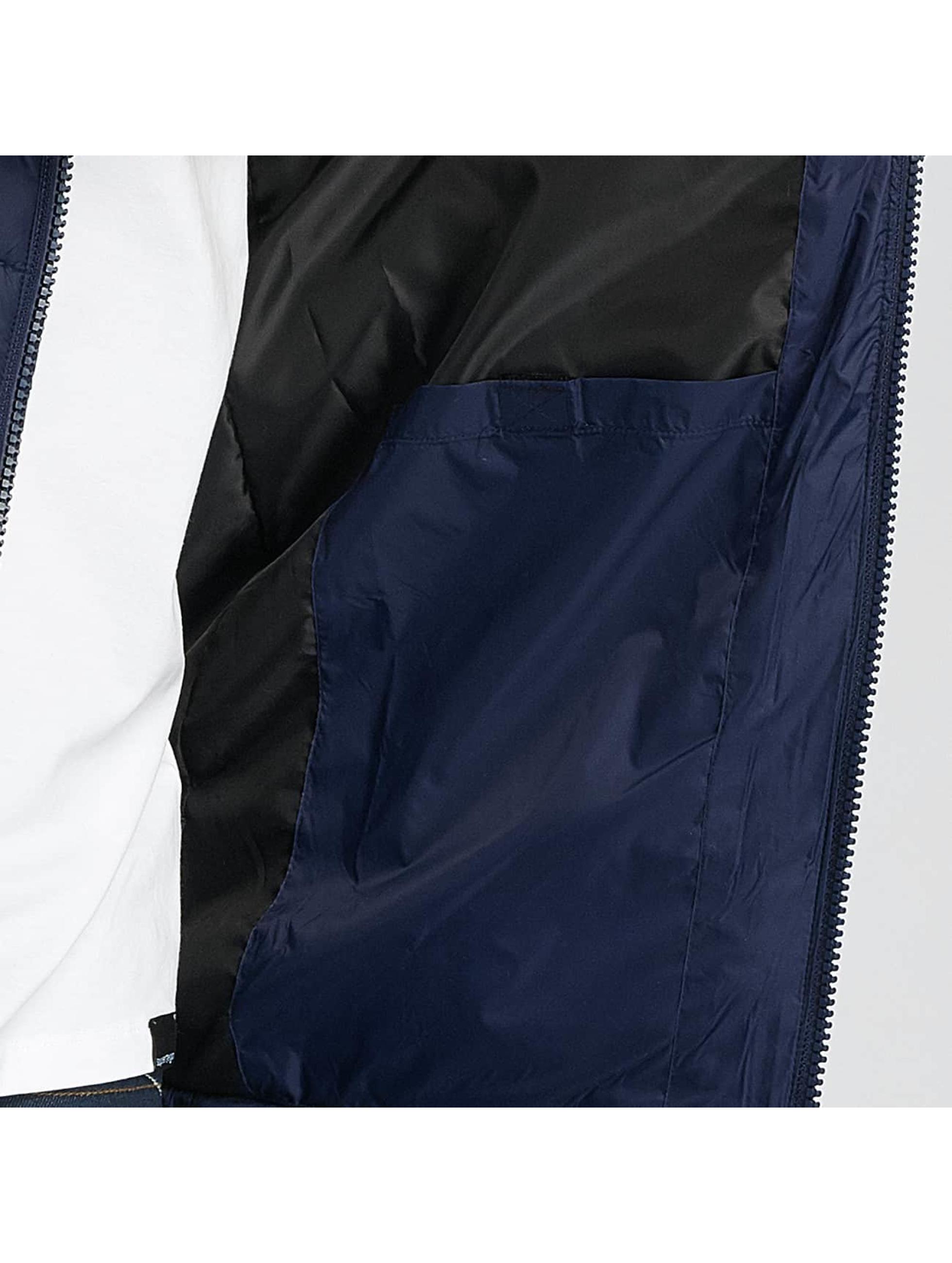 Paris Premium Manteau hiver Puffy bleu