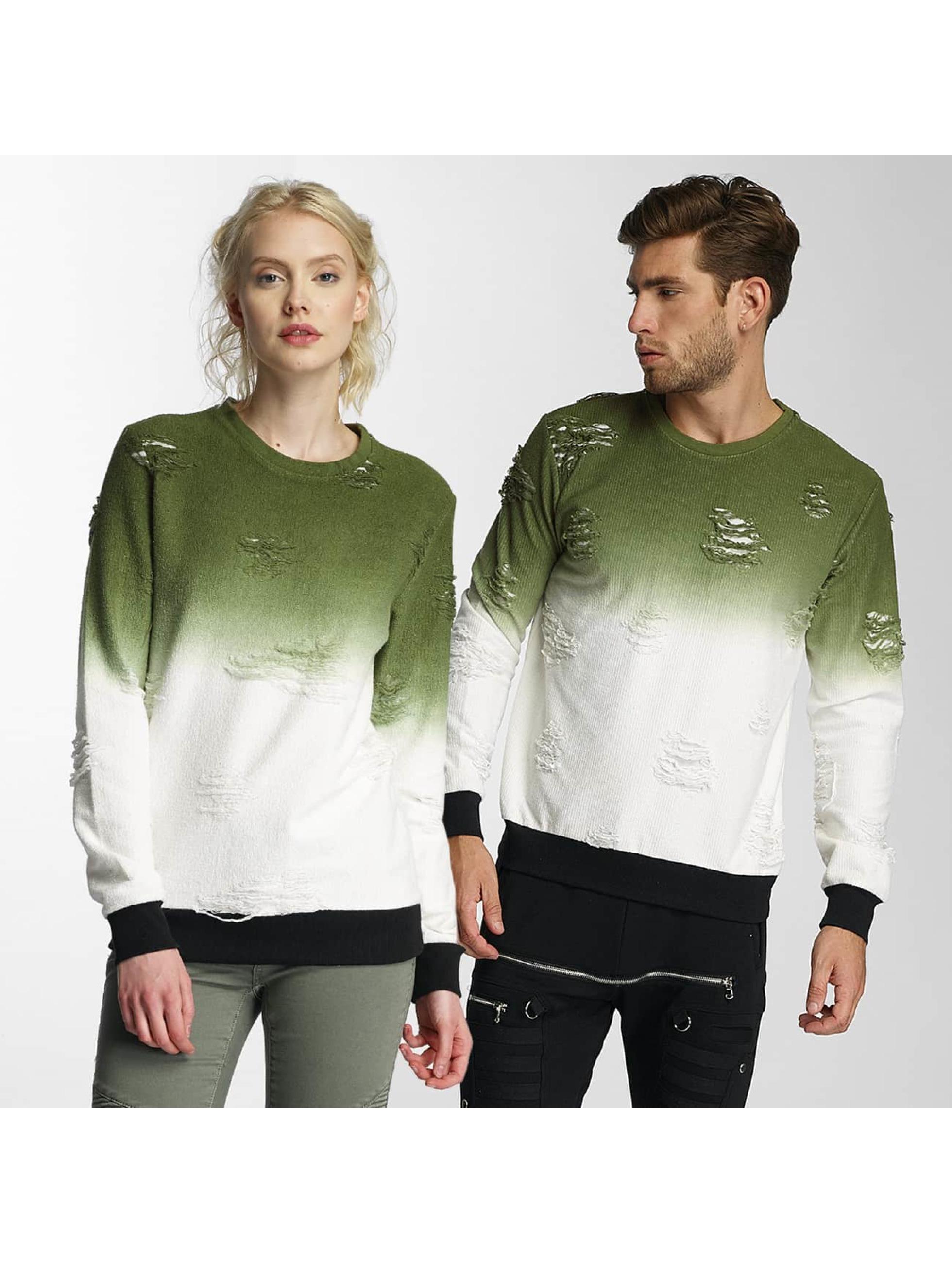Paris Premium Pullover Two Tone grün