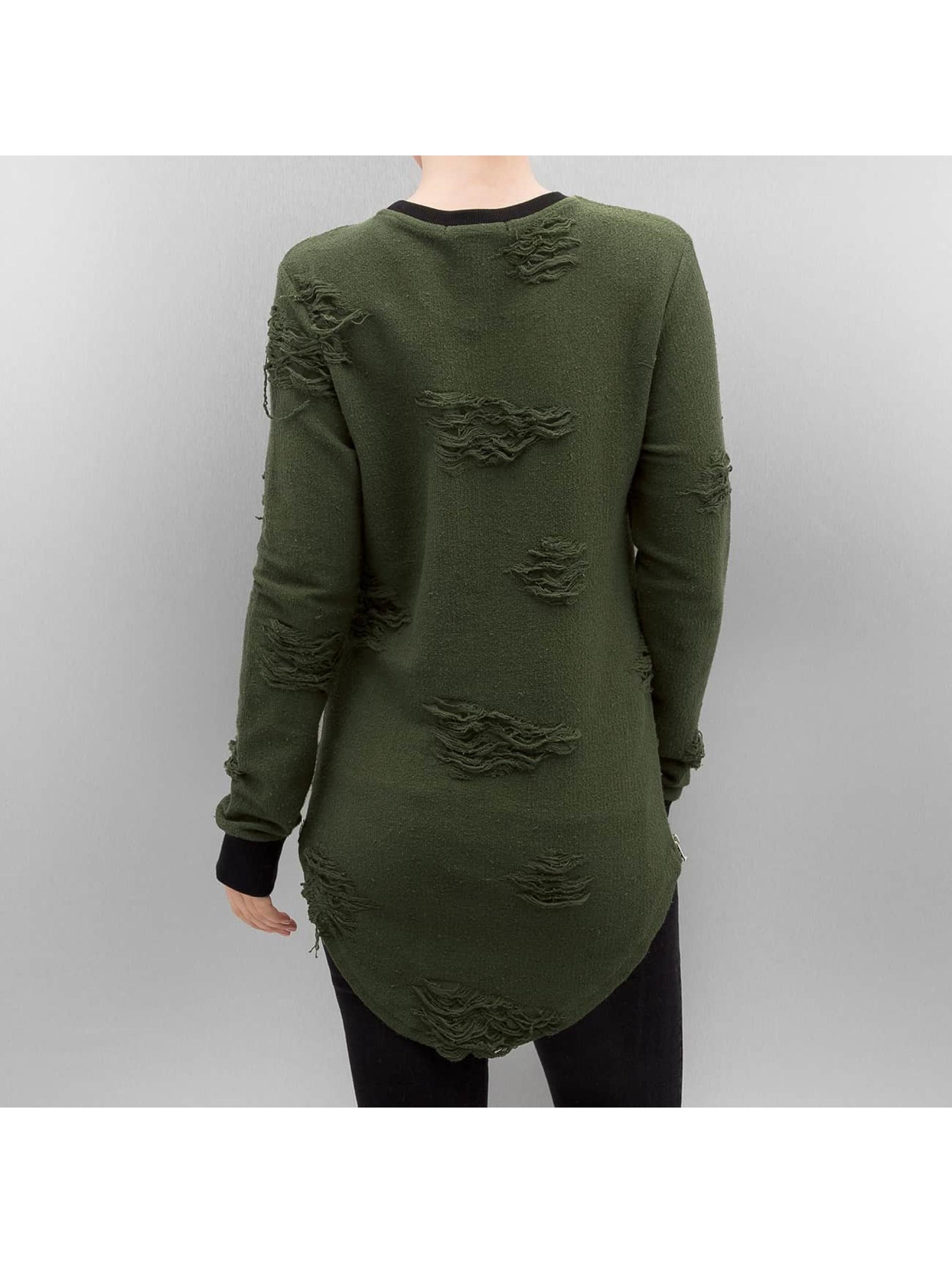 Paris Premium Pullover Used olive
