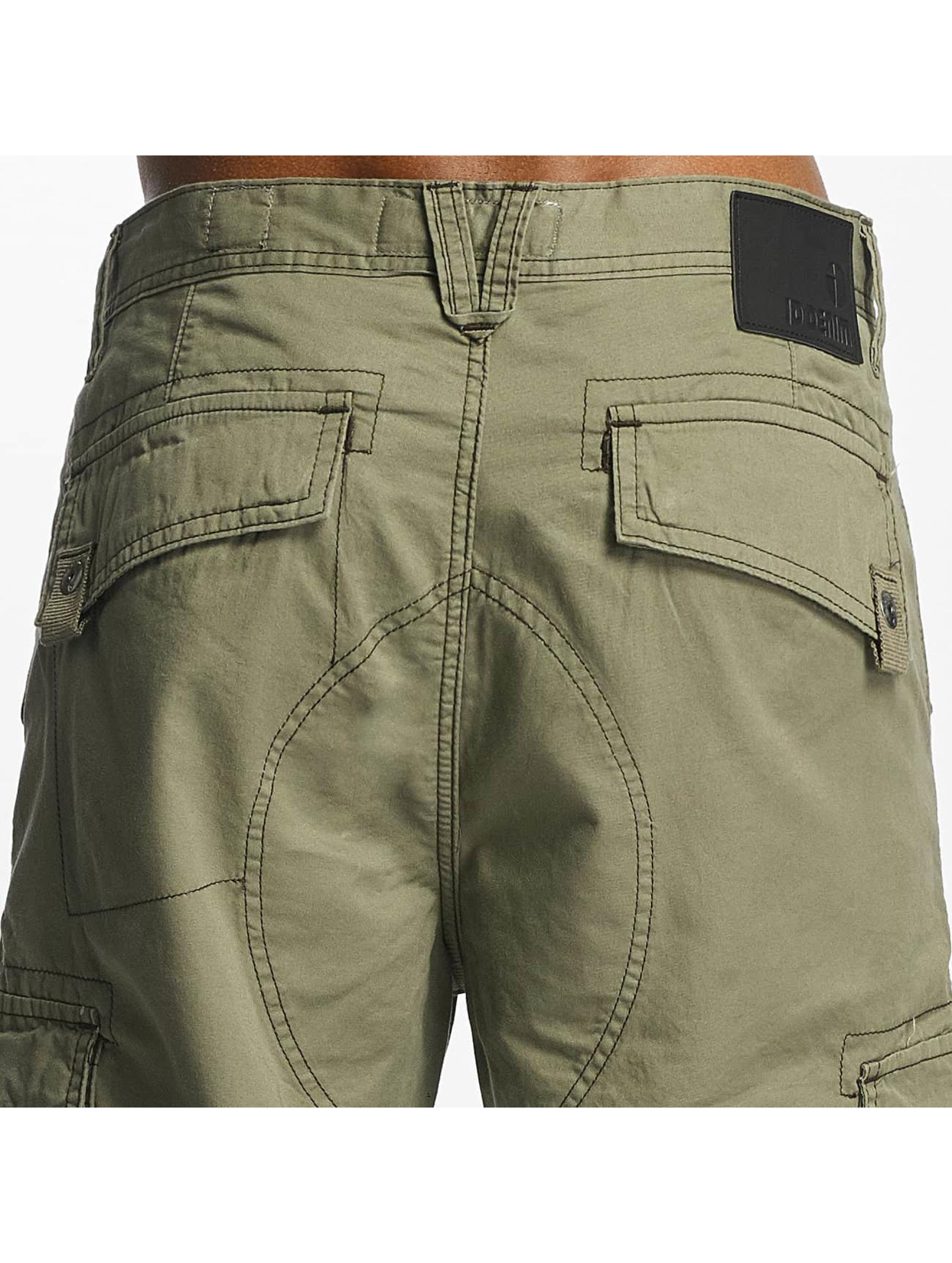 Paris Premium shorts Cargo olijfgroen