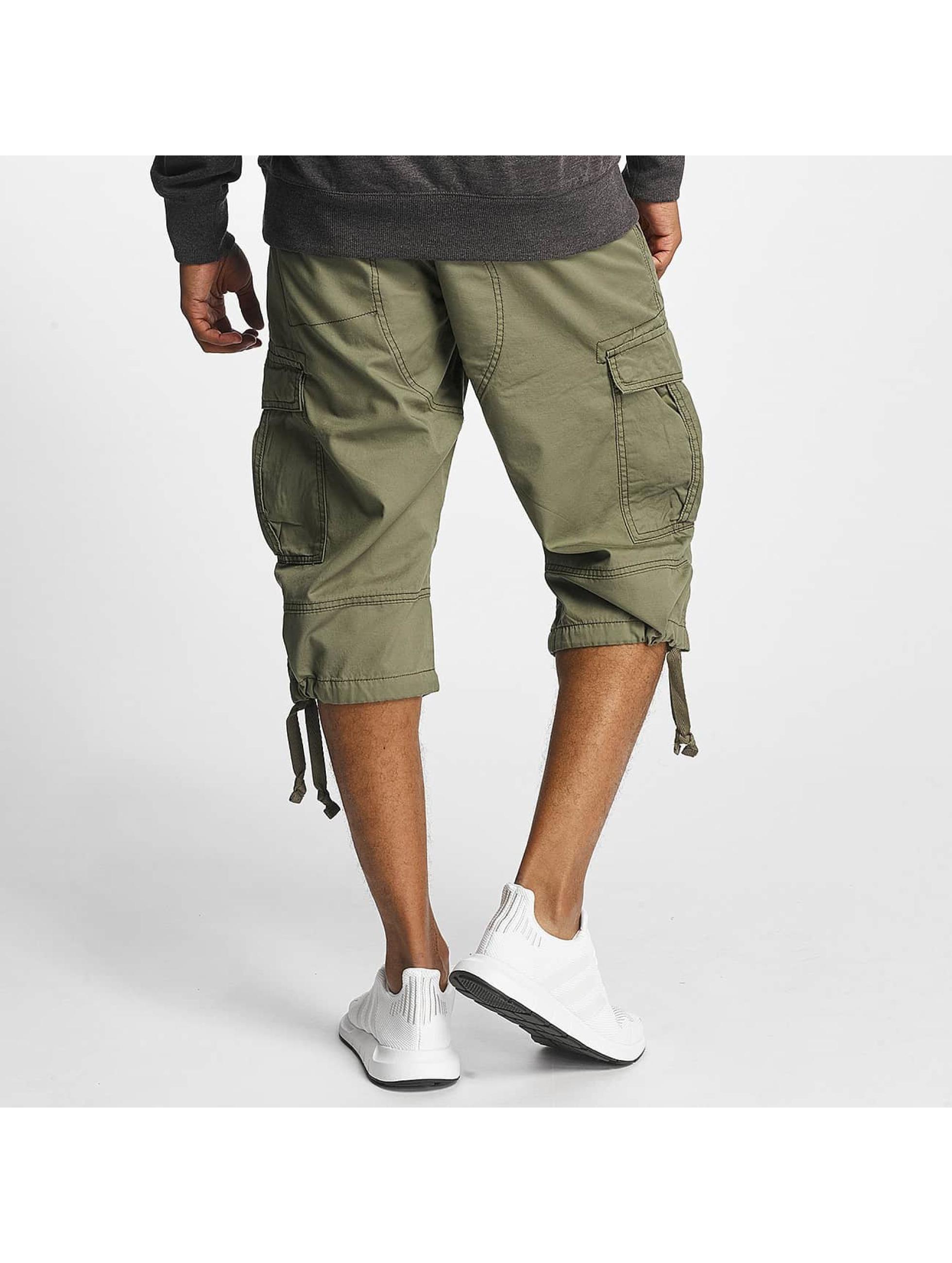 Paris Premium Shorts Cargo oliven