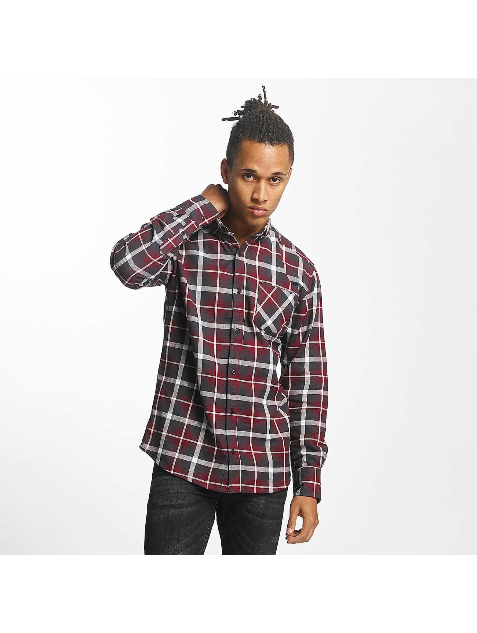 Paris Premium Skjorte Manoa rød