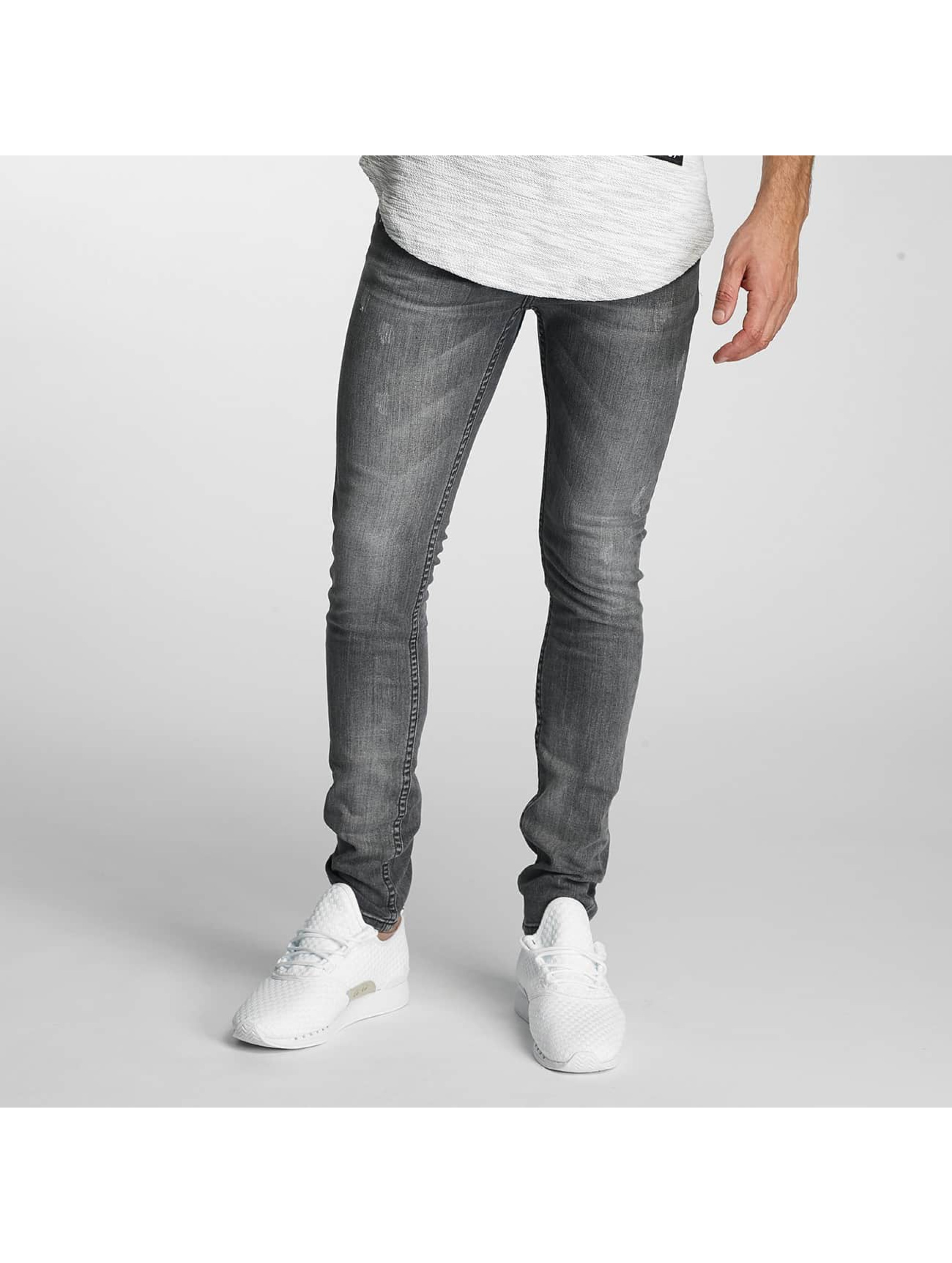 Paris Premium Slim Fit Jeans Almond grau