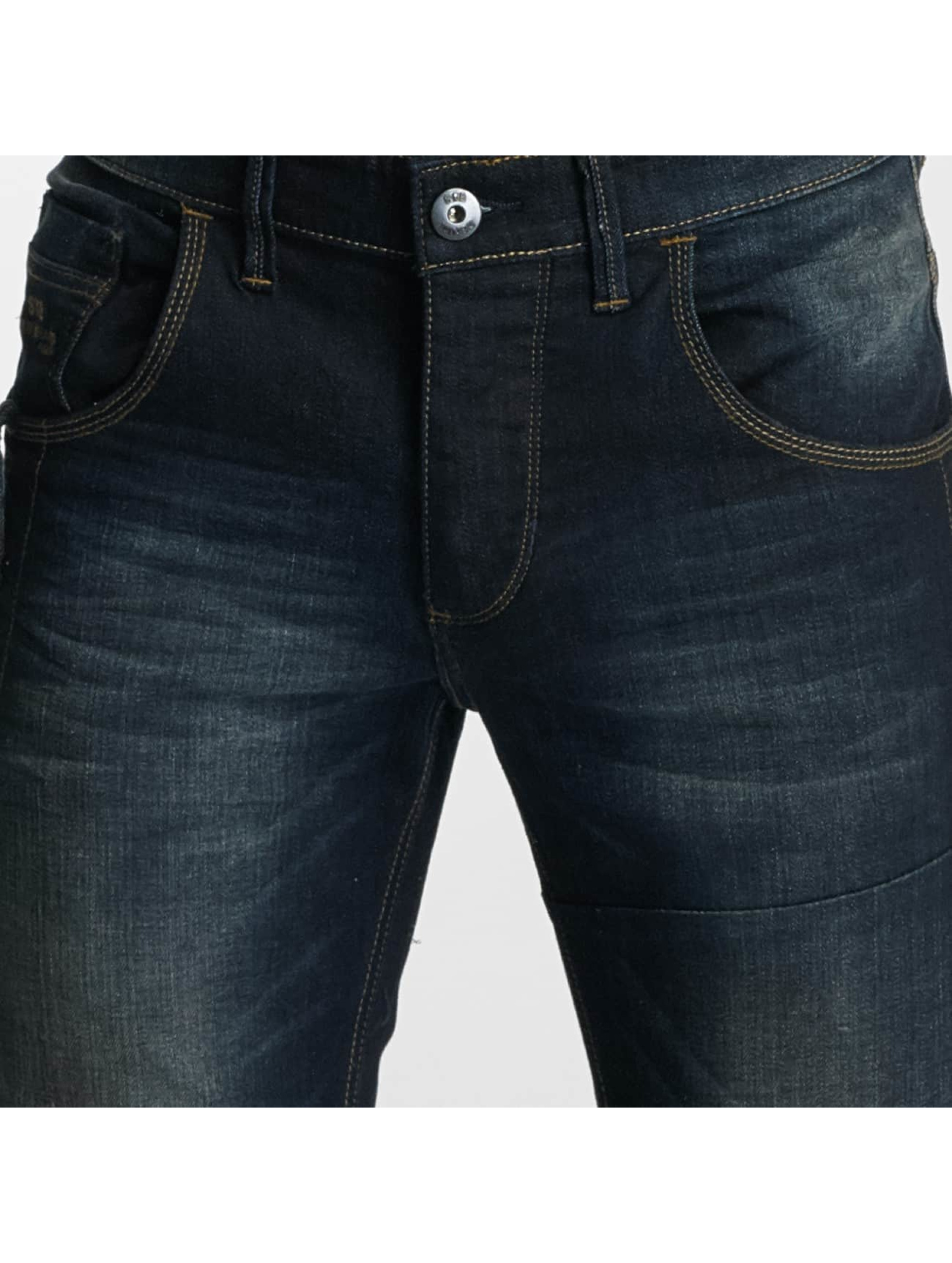 Paris Premium Straight Fit Jeans Azrael blå