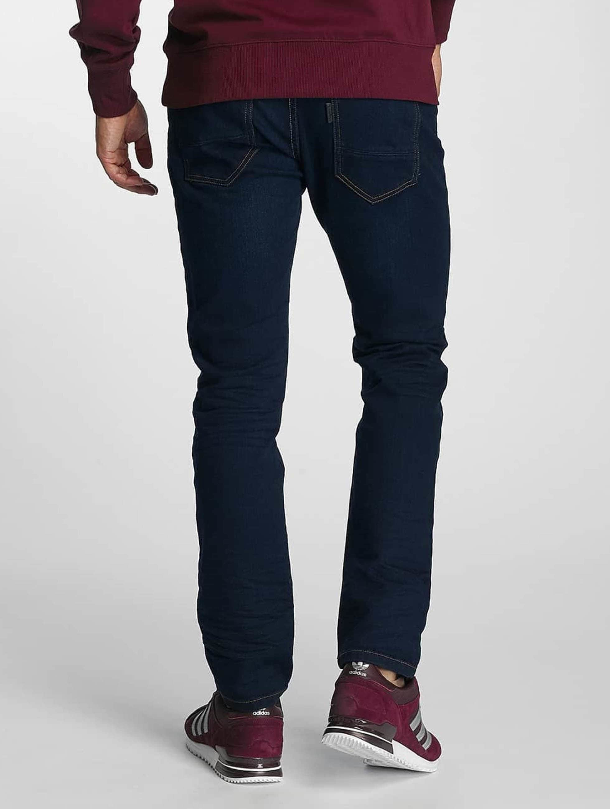 Paris Premium Straight Fit Jeans Till blå