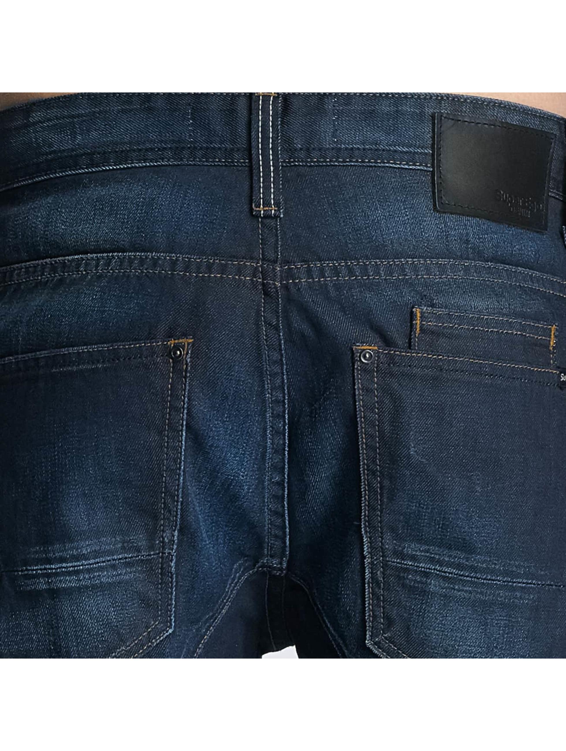 Paris Premium Straight Fit Jeans NORF blau