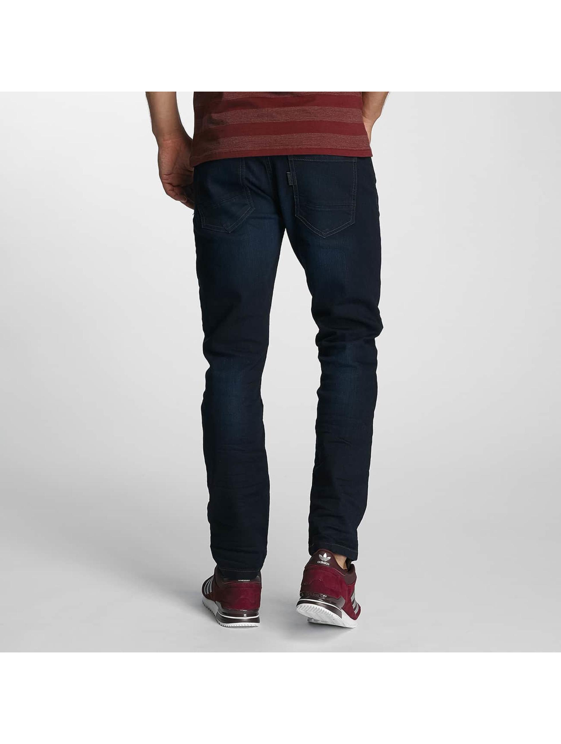 Paris Premium Straight Fit Jeans Lucifer blau