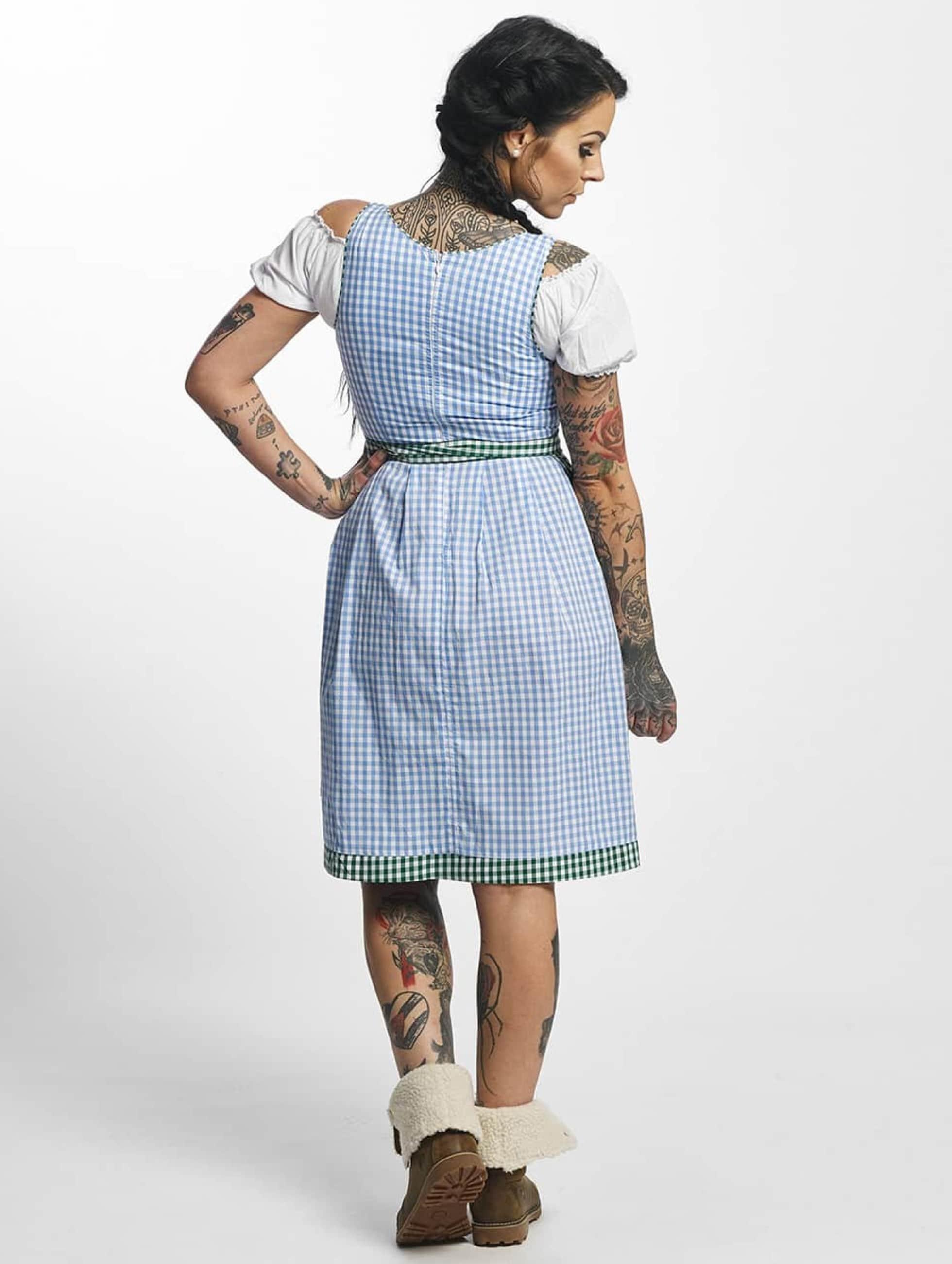 Paris Premium Sukienki Traditional II niebieski