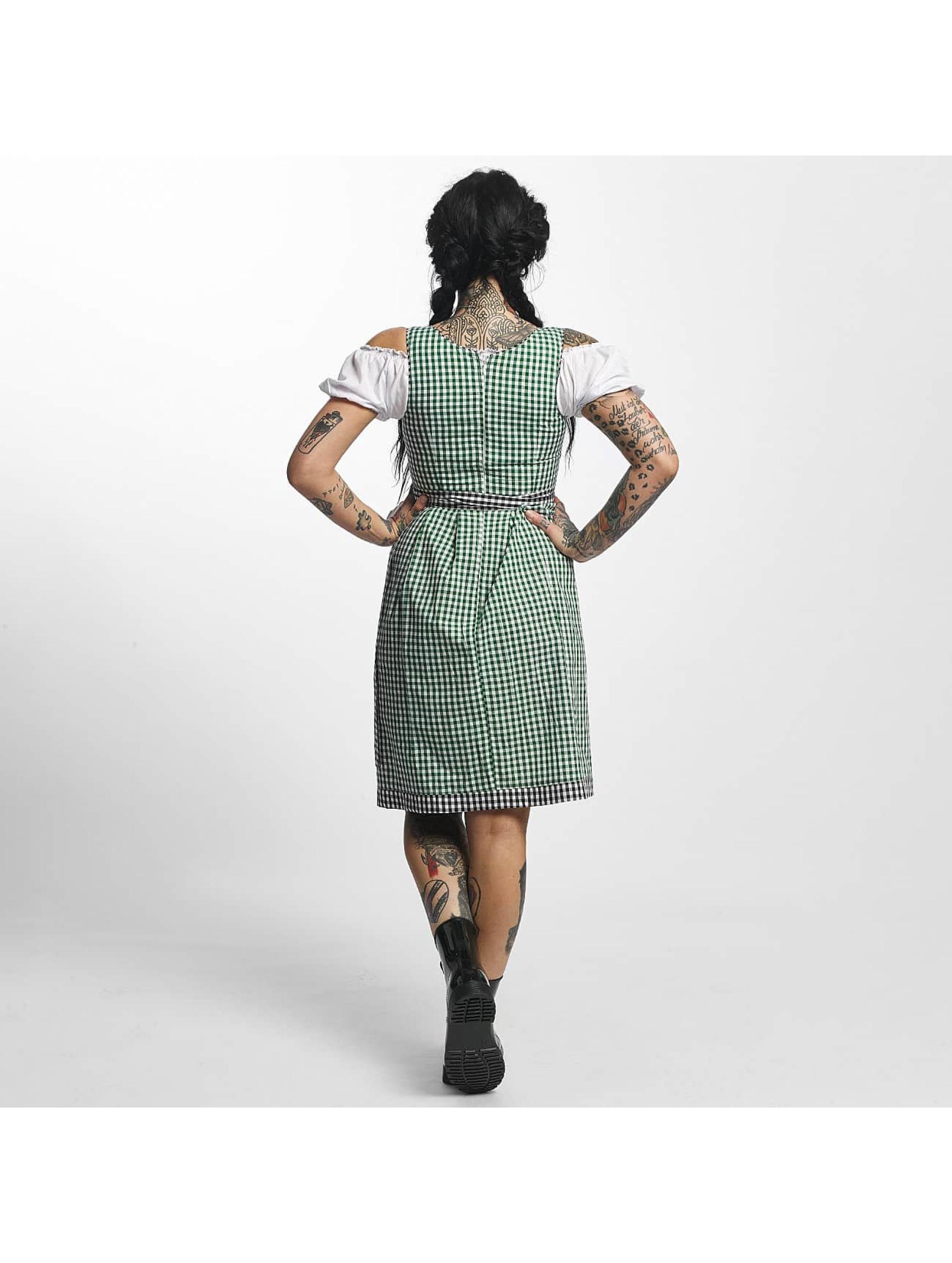 Paris Premium Sukienki Traditional II zielony