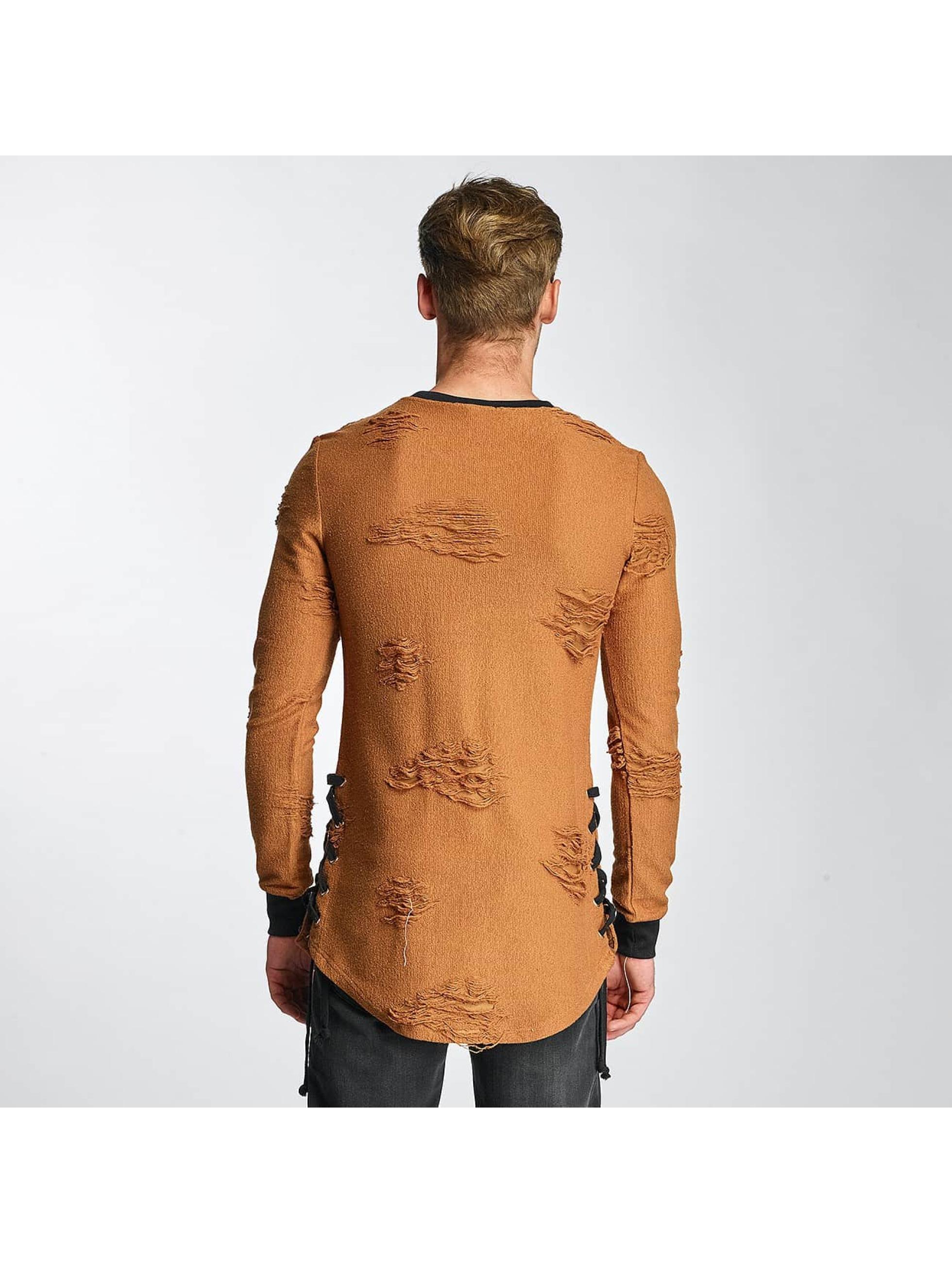 Paris Premium Sweat & Pull Destroyed brun