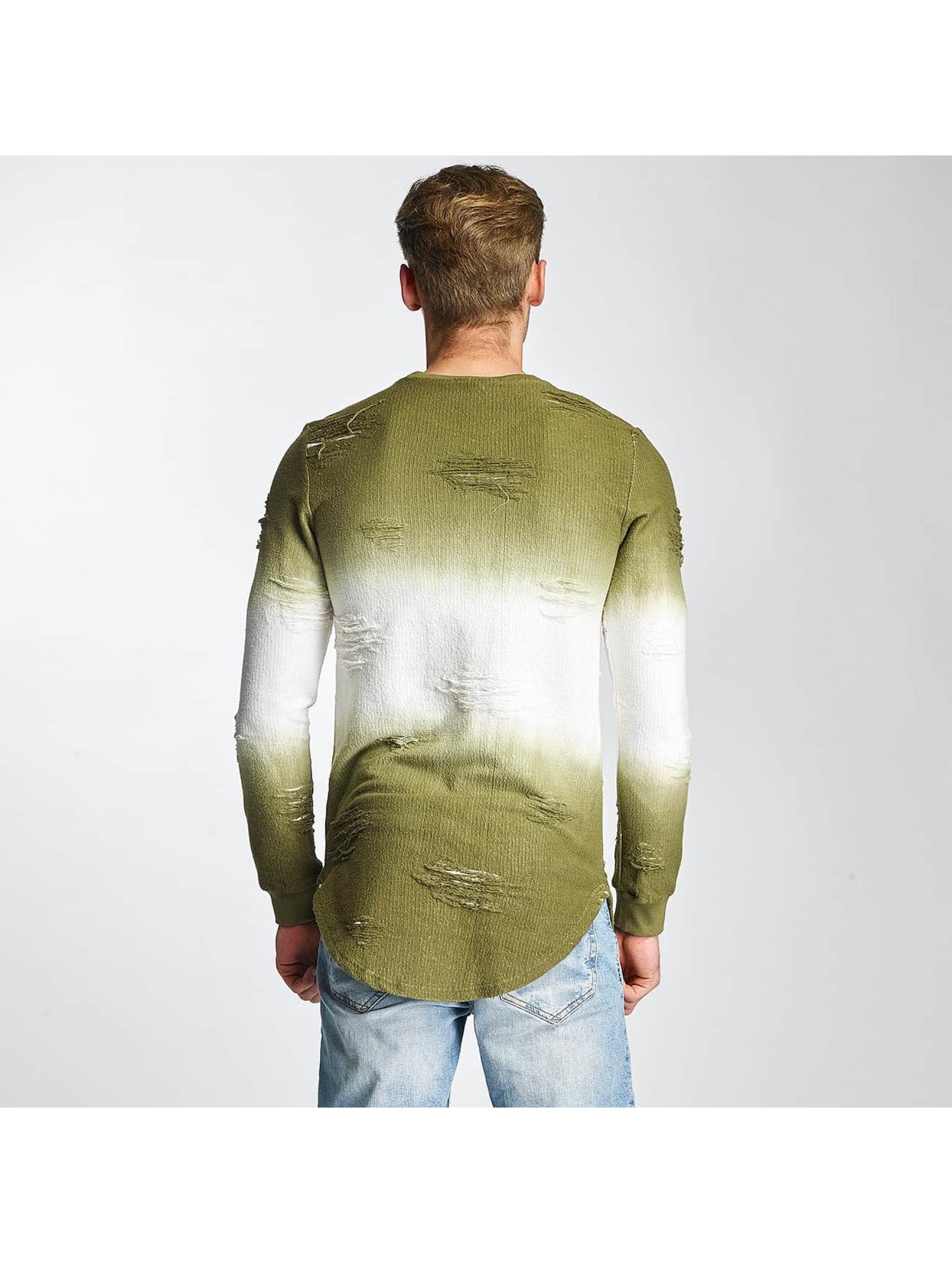 Paris Premium Sweat & Pull Two Tone vert