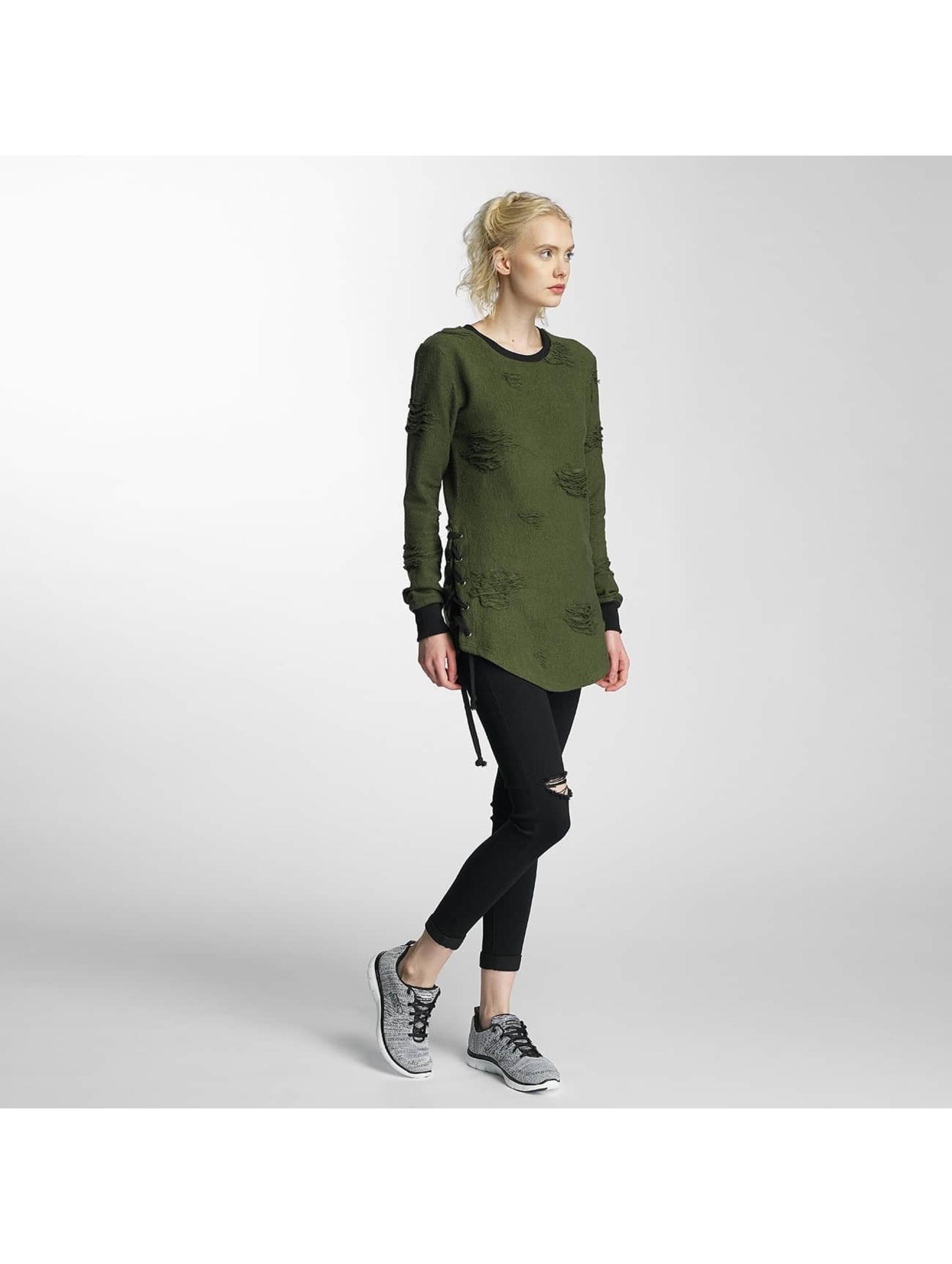 Paris Premium Sweat & Pull Destroyed vert