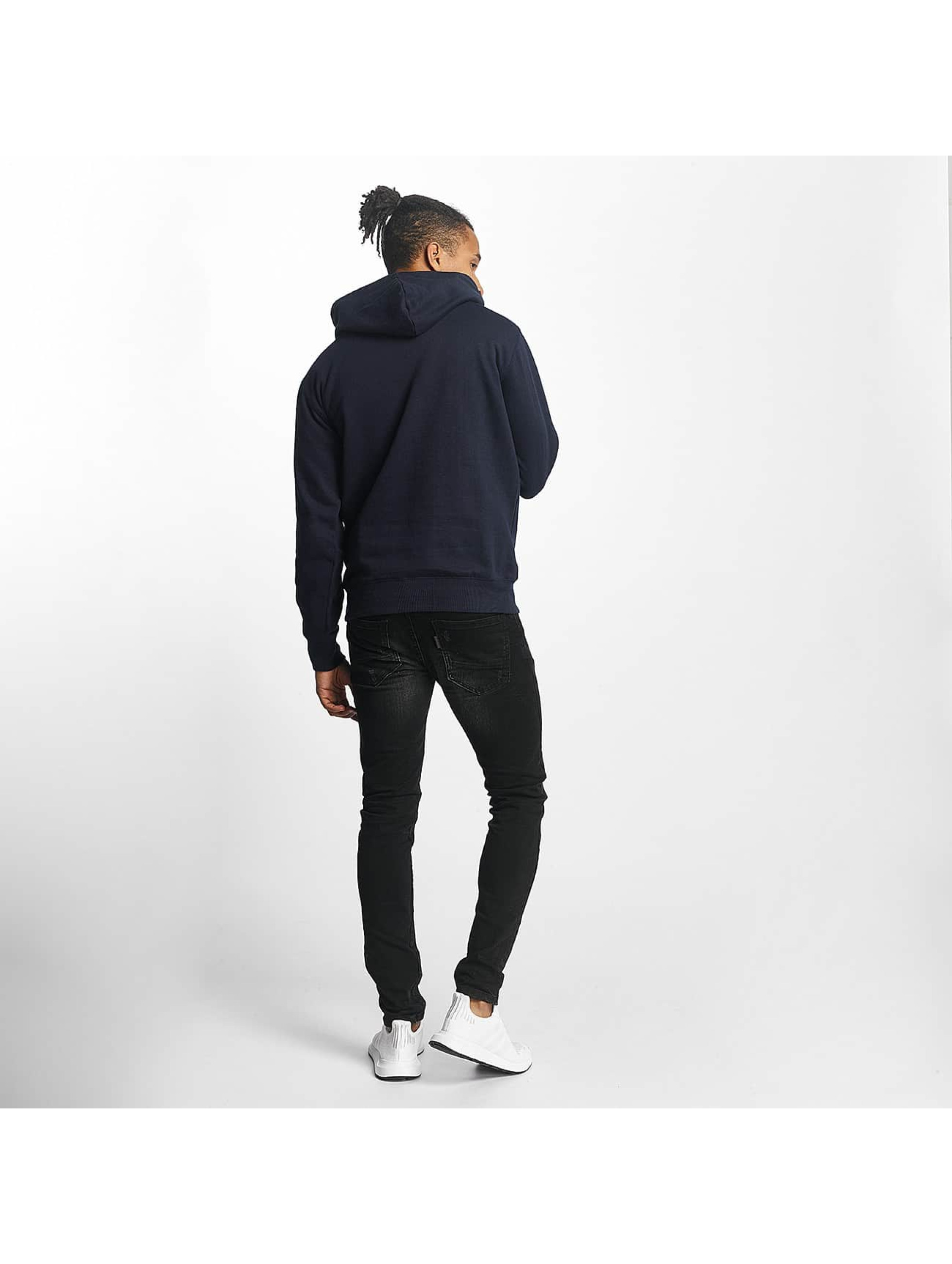 Paris Premium Sweat capuche Basic bleu