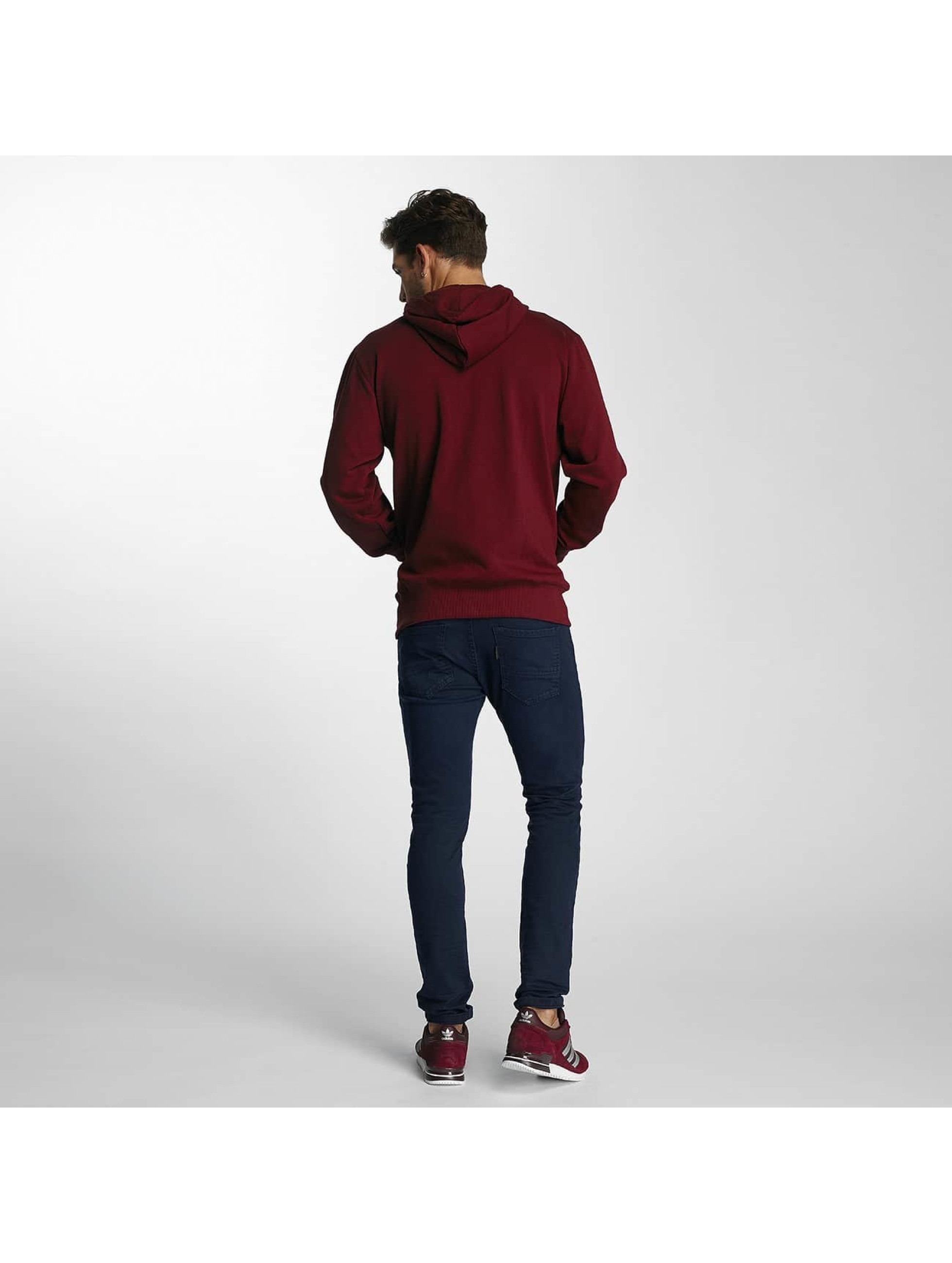 Paris Premium Sweat capuche zippé Town House rouge